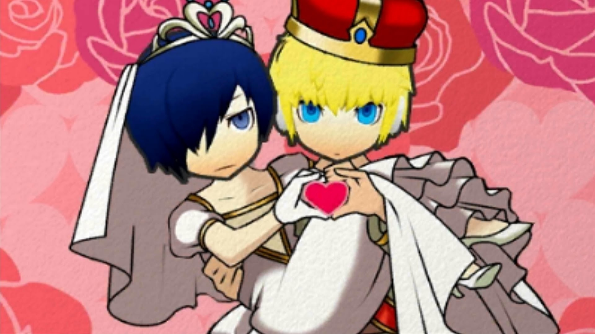 [3DS] Persona Q: Shadow of the Labyrinth [Persona 3] – Wedding: Aigis –  YouTube