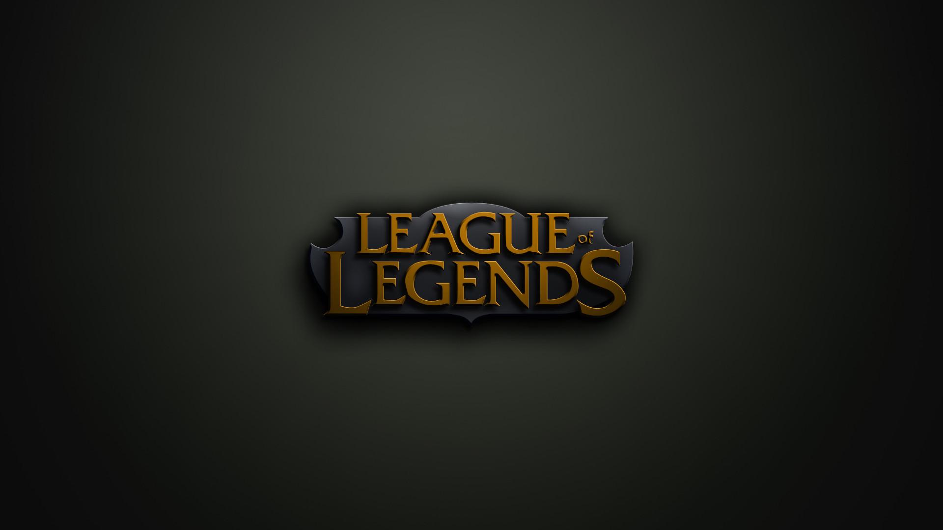 League of Legends League Of Legends Logo Background