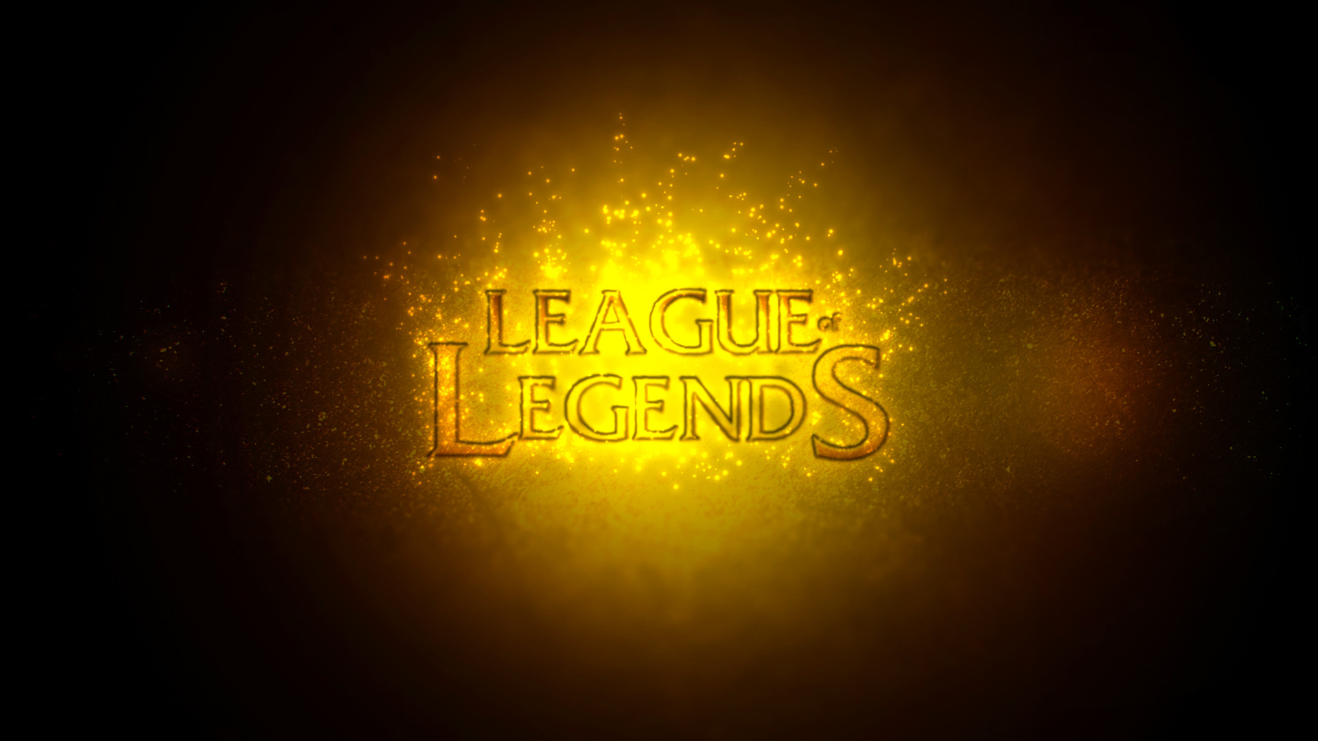 … League of Legends Logo – HD Wallpaper by ThePeakEater