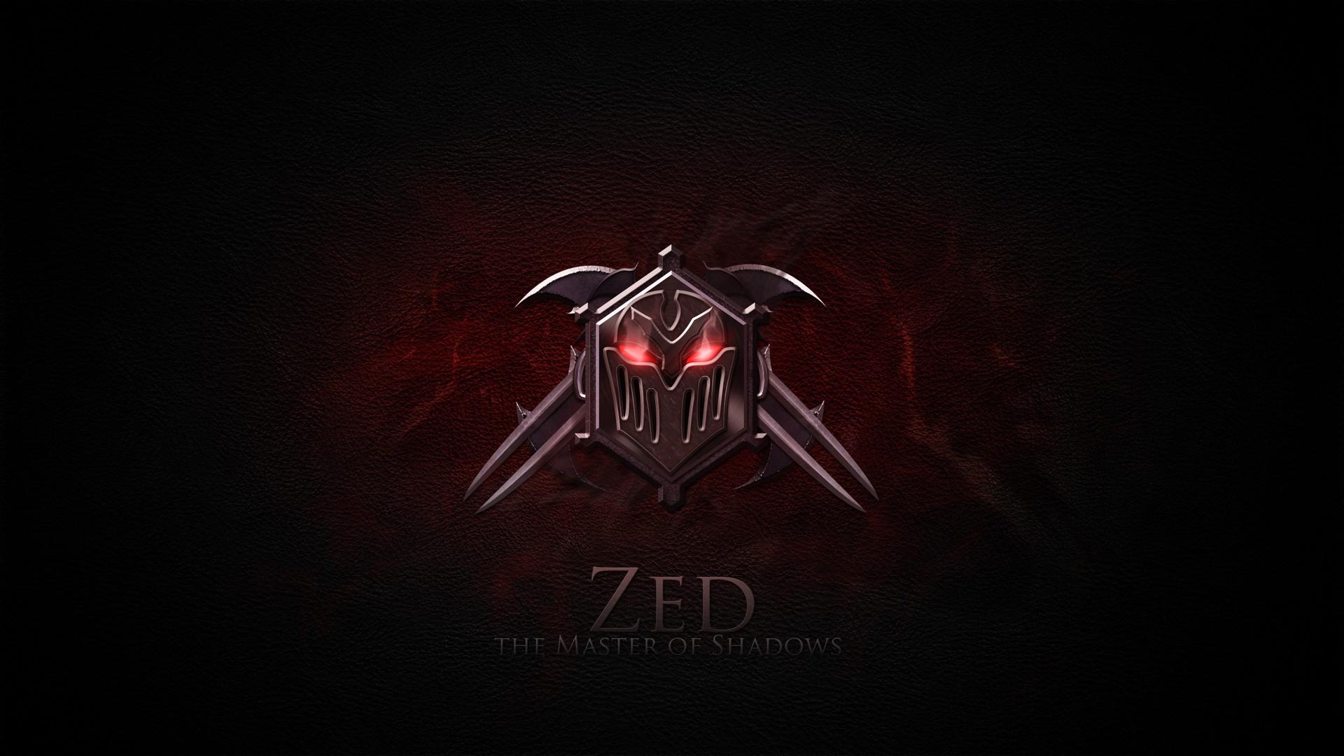 Zed logo icon League of Legends