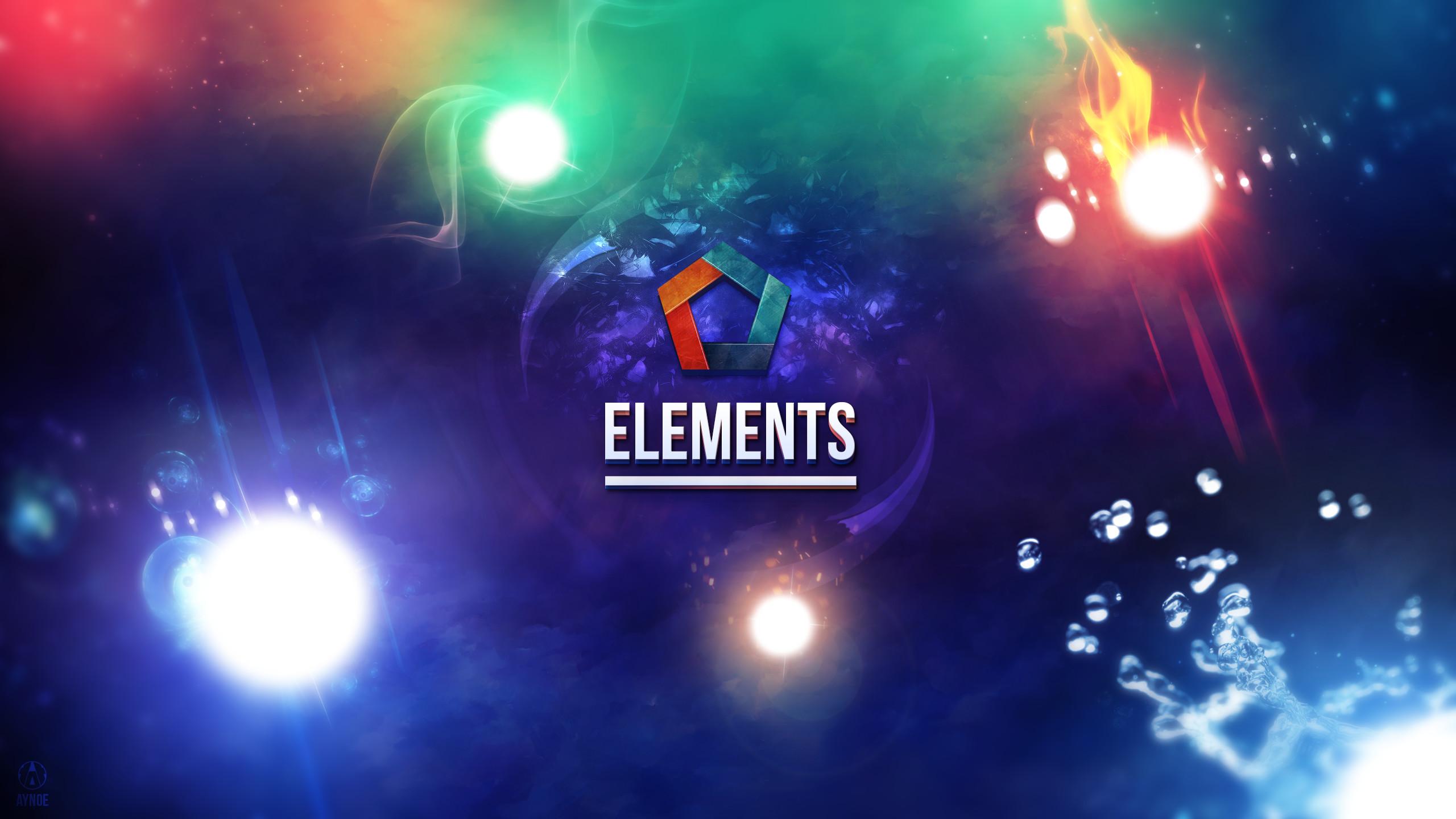 … Elements Wallpaper Logo – League of Legends by Aynoe