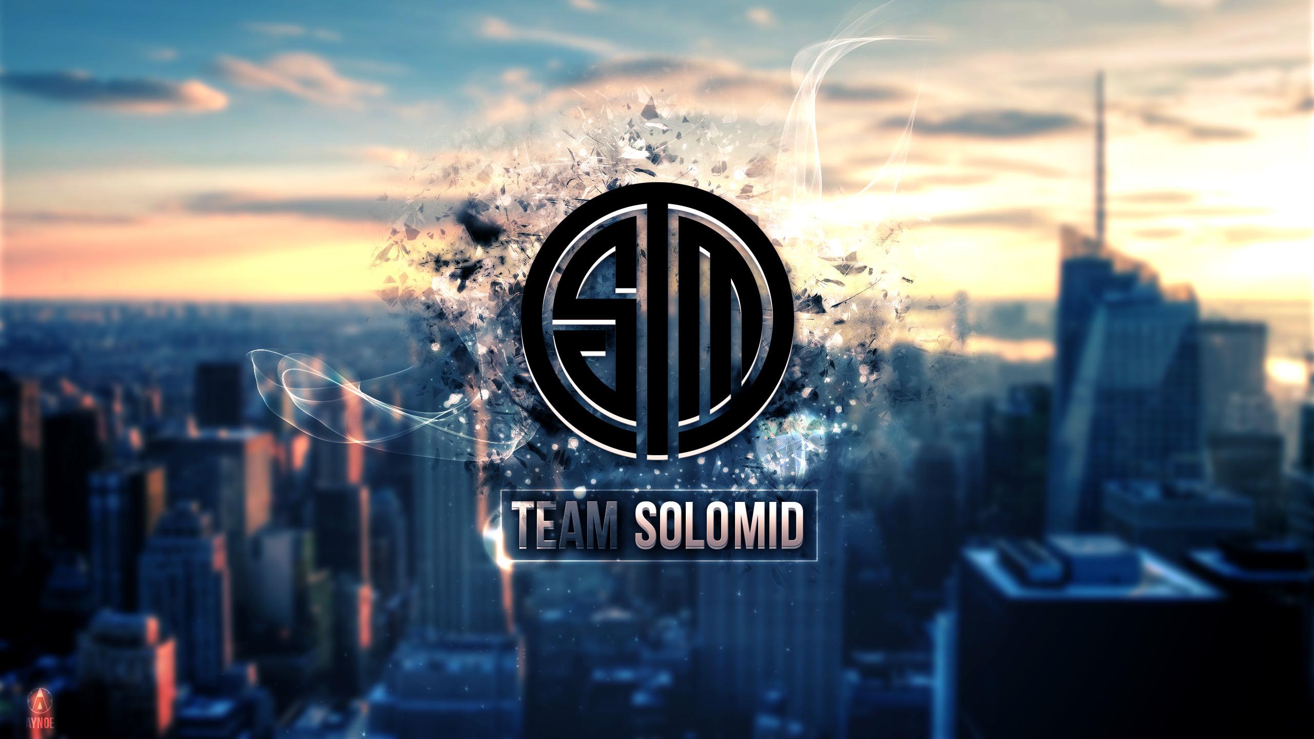 … Team Solomid 2 Wallpaper Logo – League of Legends by Aynoe