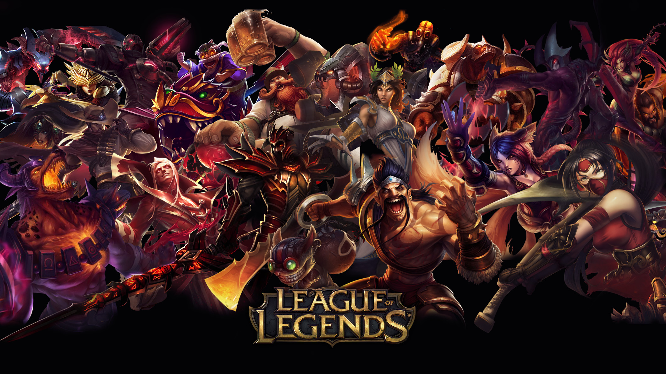 League of Legends Red Wallpaper
