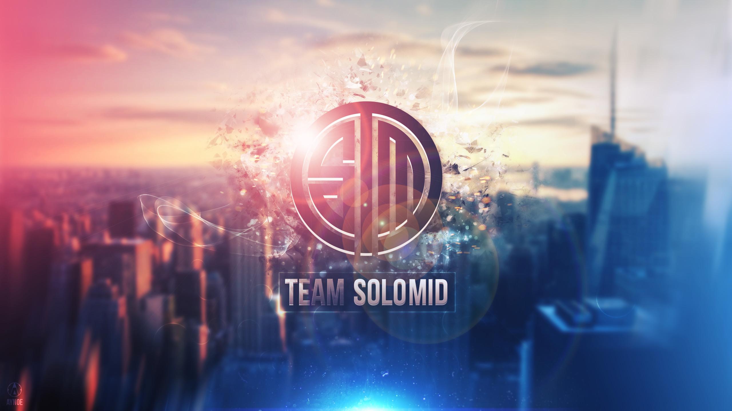 … Team Solomid Wallpaper Logo – League of Legends by Aynoe