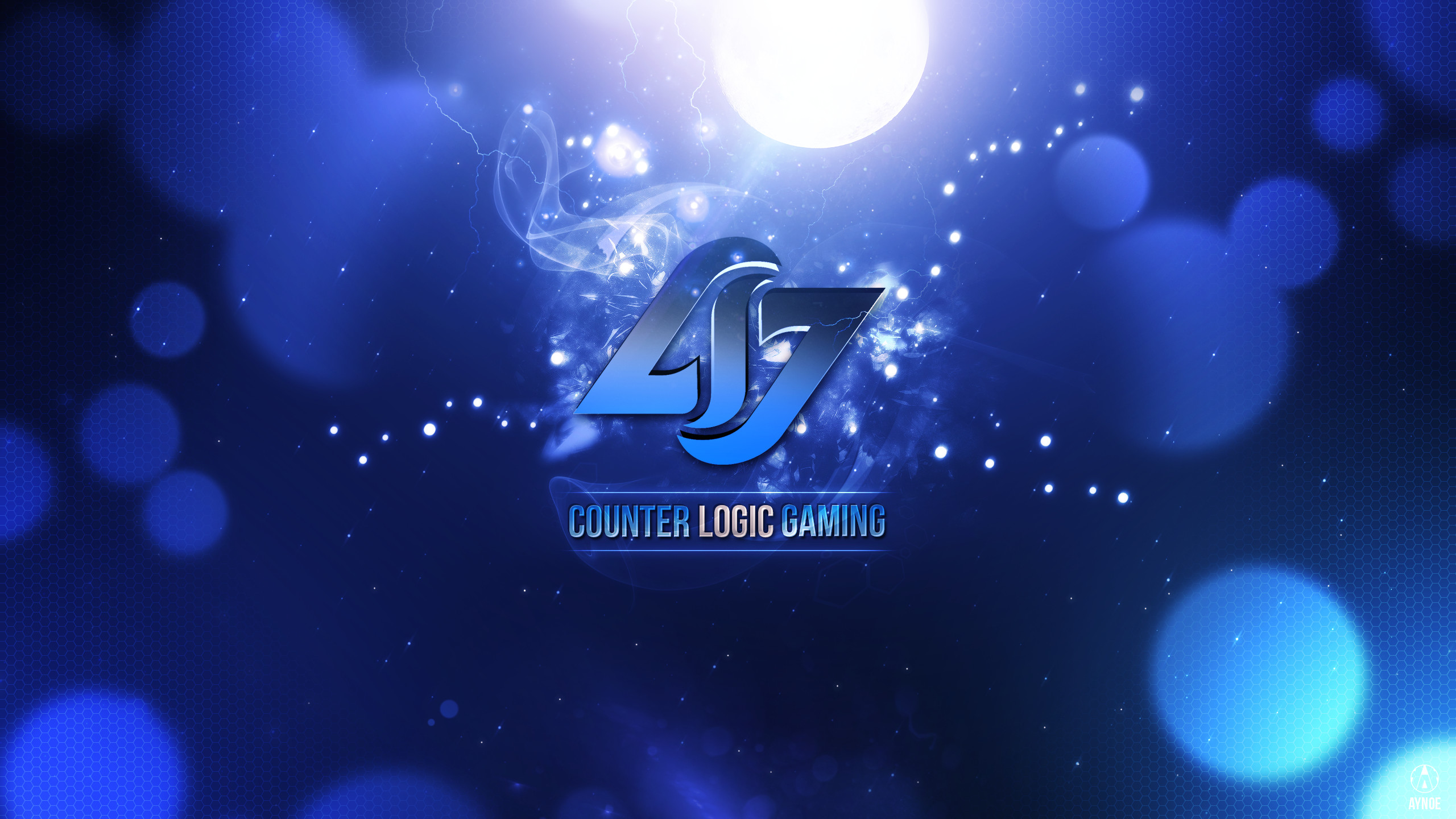 … CLG Wallpaper Logo – League of Legends – Dark one by Aynoe