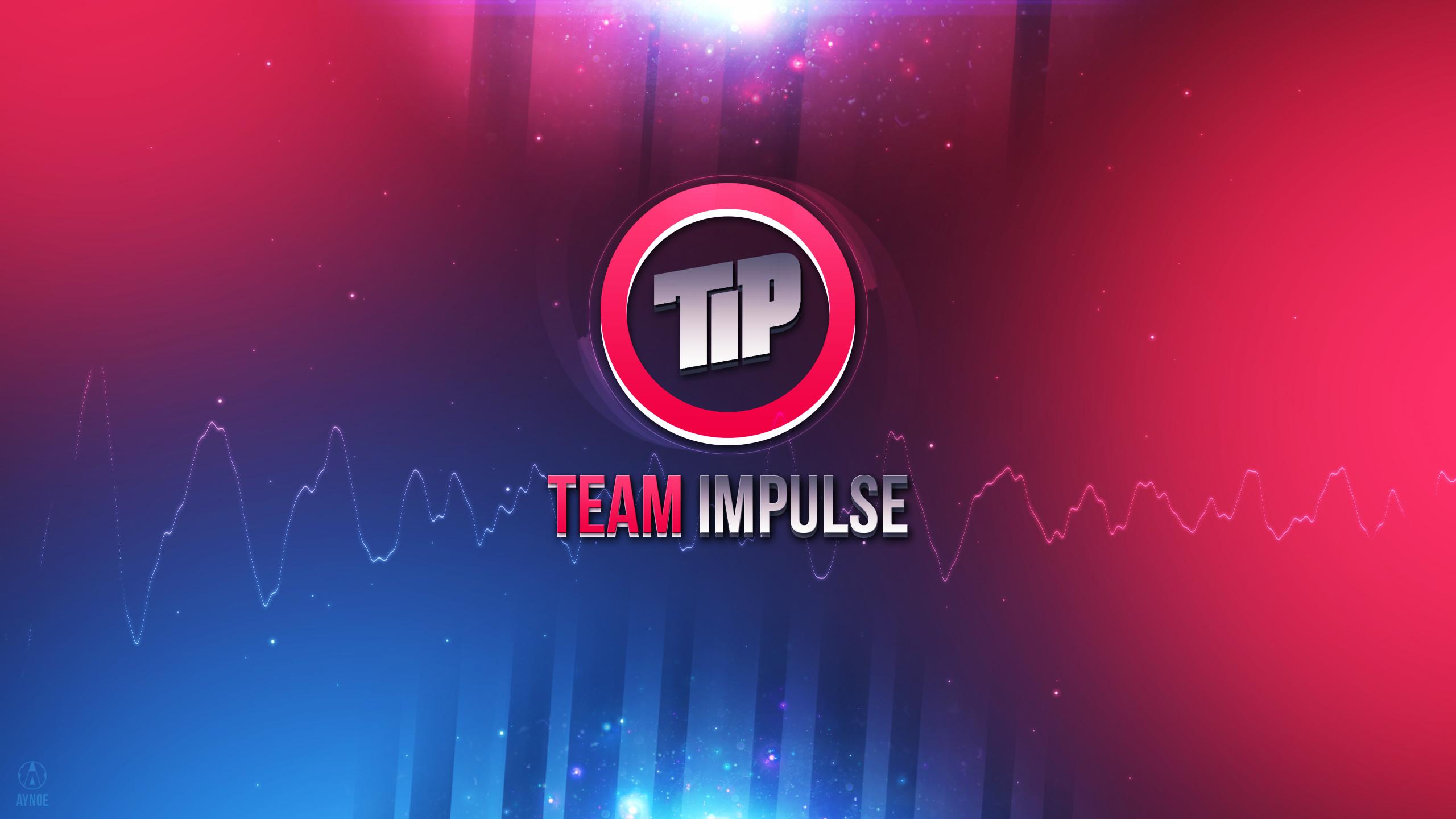… Team Impulse Wallpaper Logo – League of Legends by Aynoe