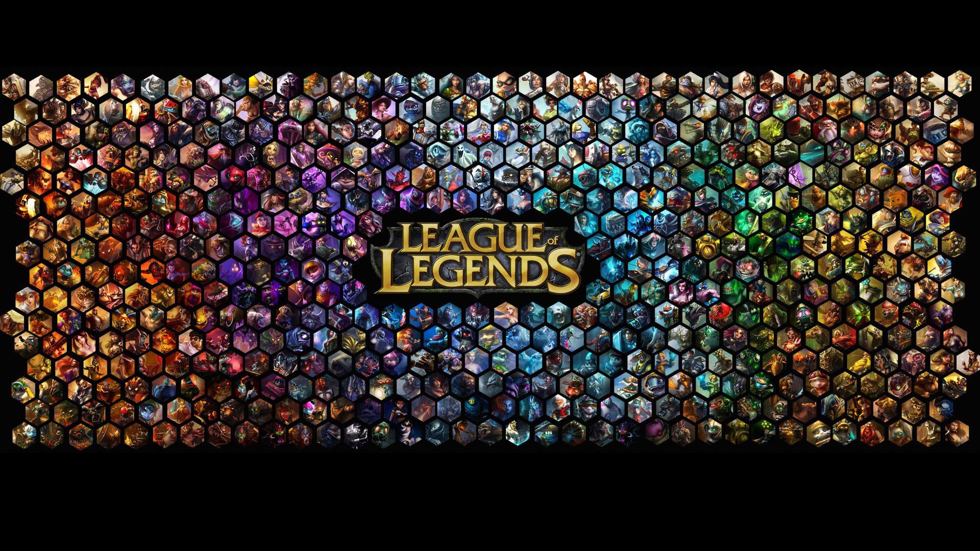 League of Legends Champions HD High Definition Wallpaper