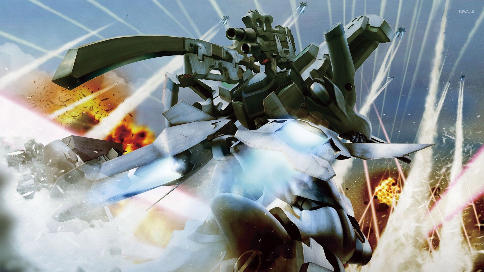 Tactical Surface Fighter – Muv-Luv wallpaper jpg