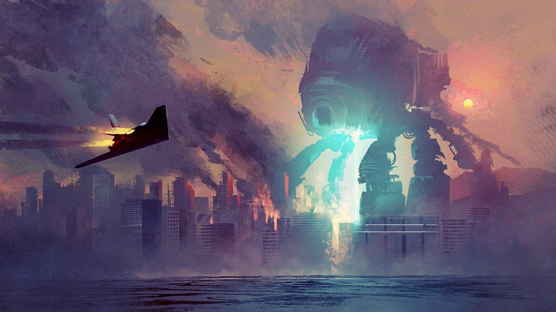 Artwork Fantasy Art Concept Robots Mechs …