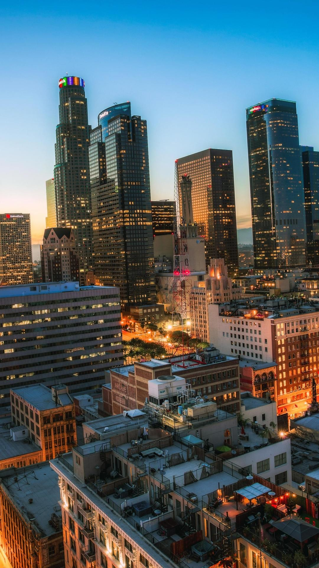 Los Angeles Iphone Wallpaper
