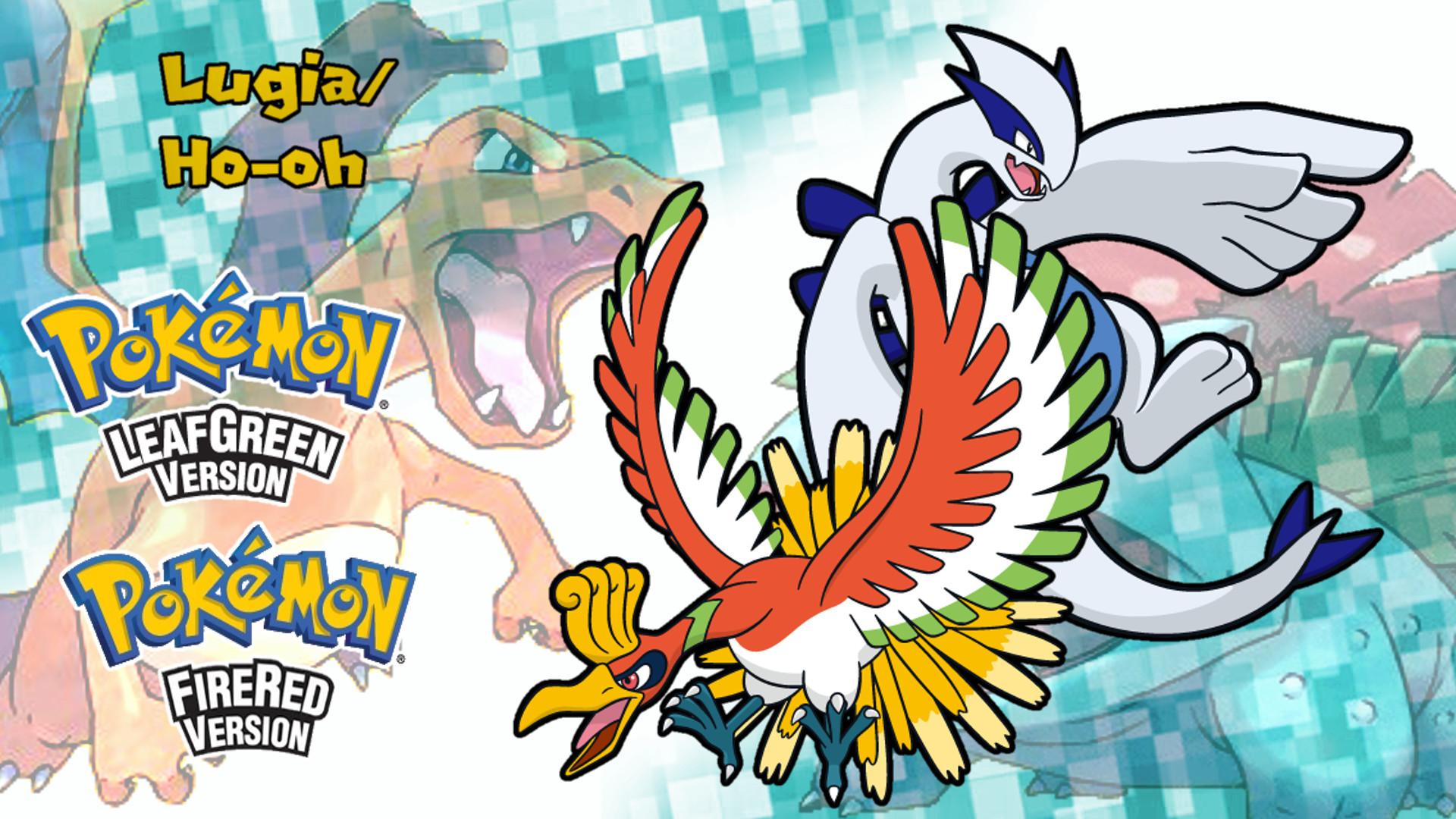 Pokemon Frlg Lugia And Ho Oh Wallpaper 669907617