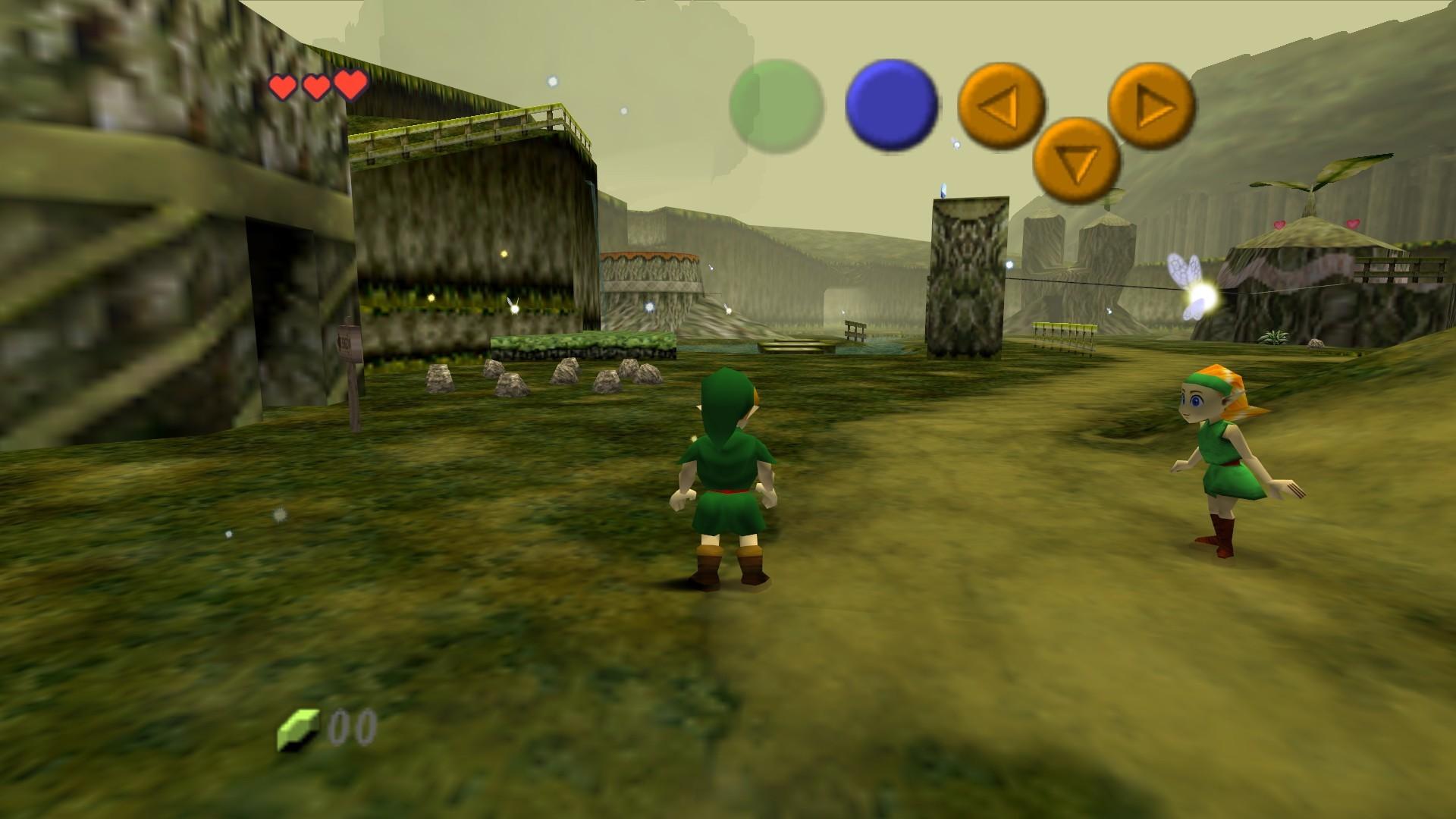 Video Game – The Legend Of Zelda: Ocarina Of Time Bakgrund