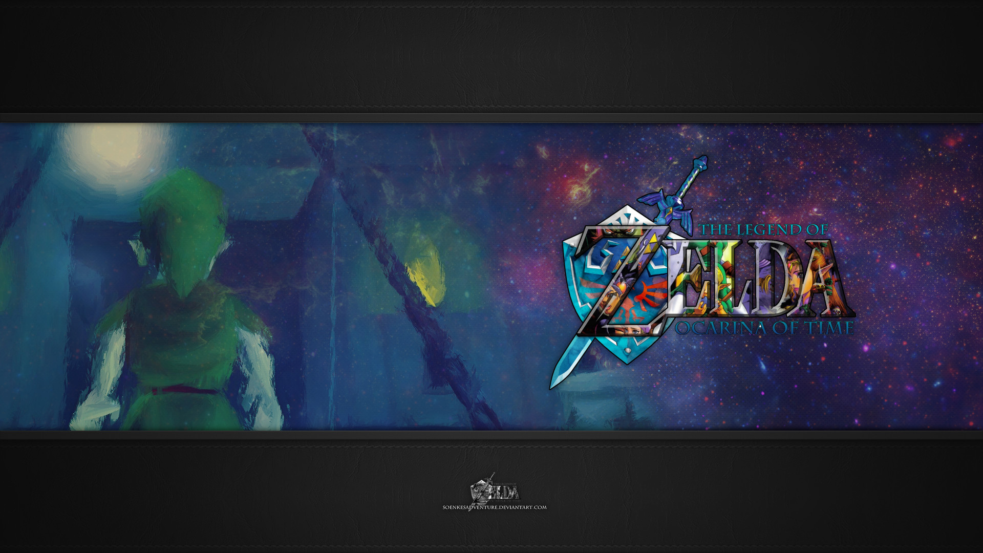 … SoenkesAdventure Zelda – Ocarina of Time Wallpaper Full HD 1080p by  SoenkesAdventure