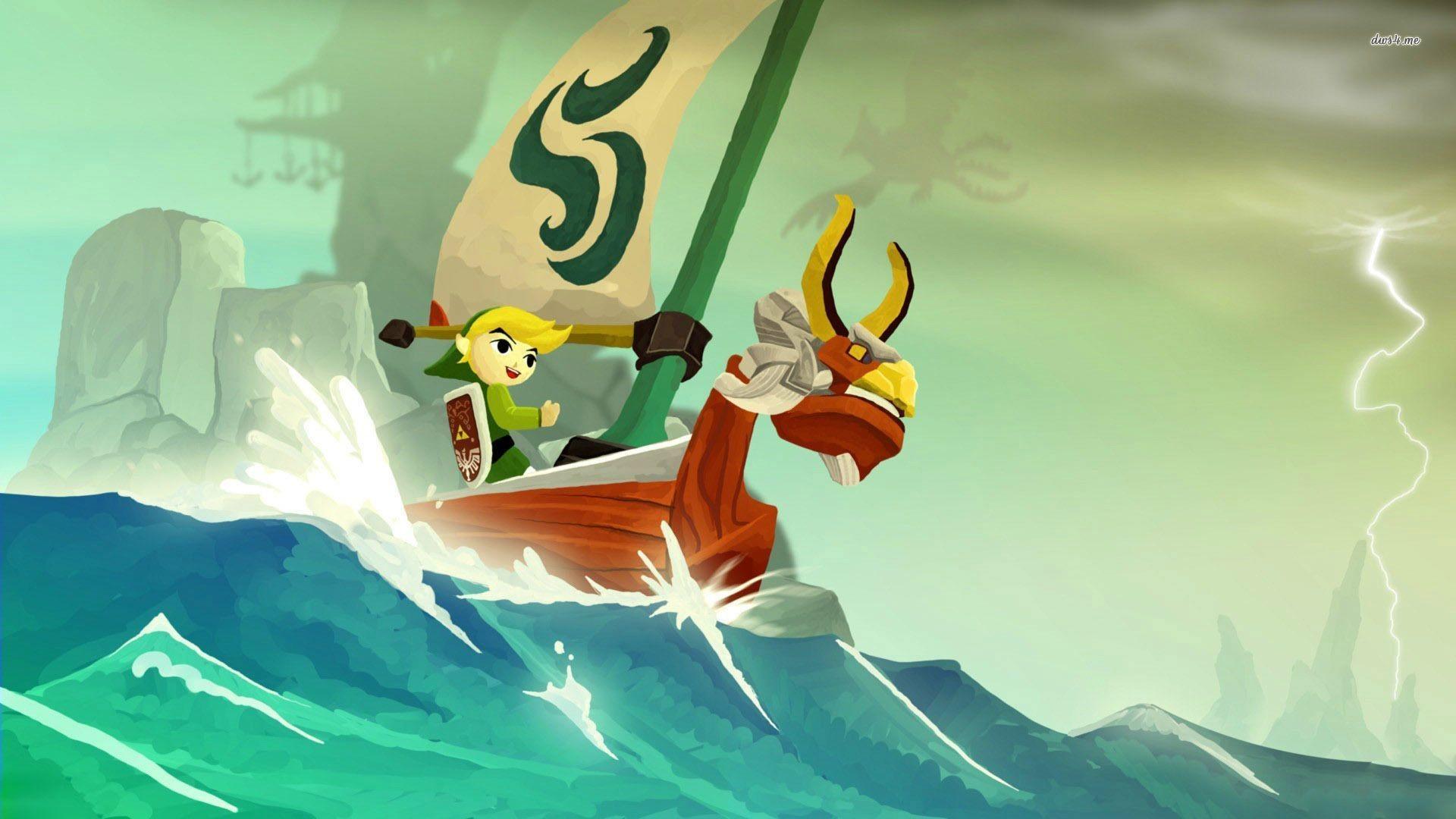The Legend of Zelda: The Wind Waker wallpaper – Game wallpapers .