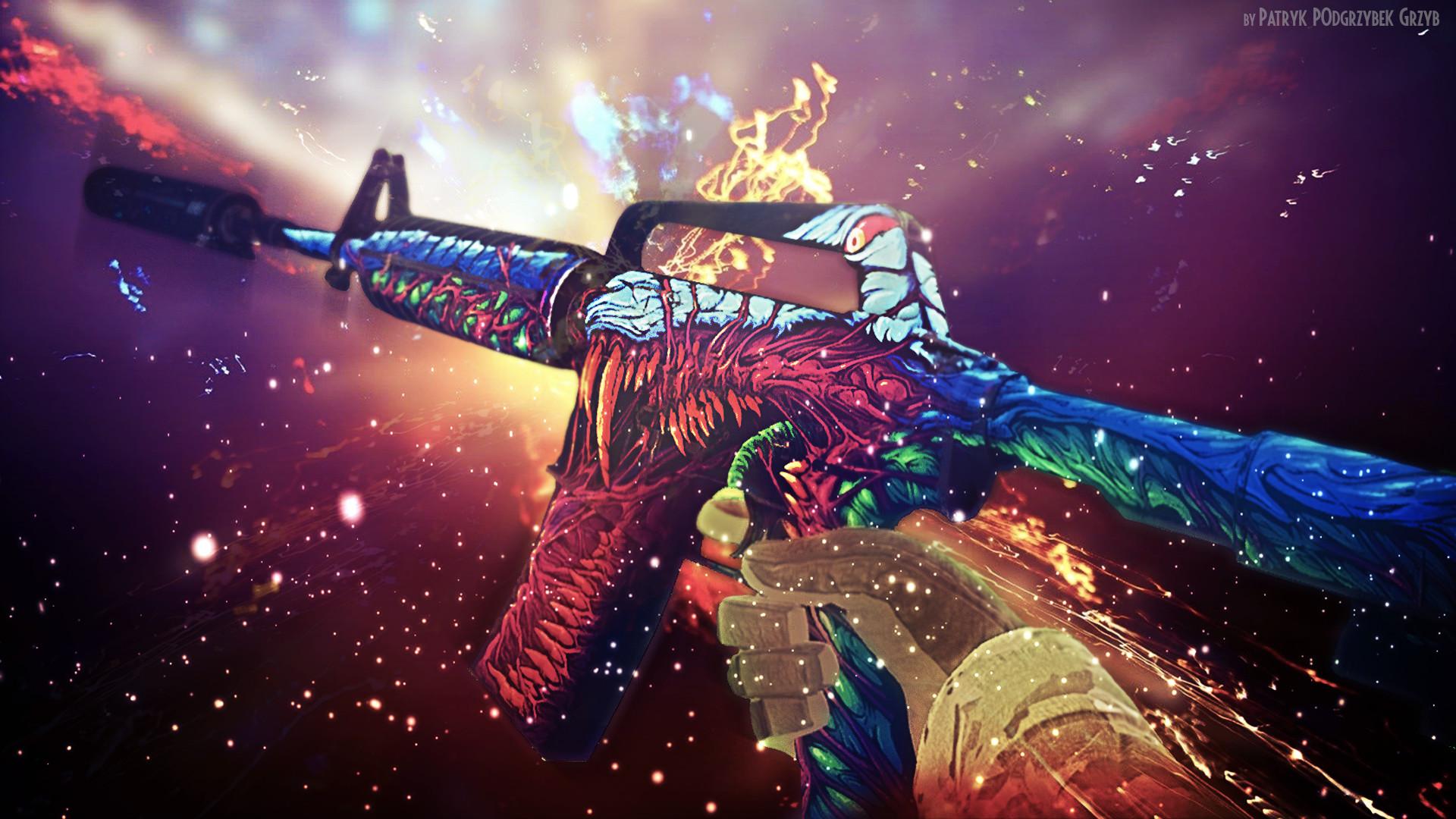 Steam Community :: :: m4a1-s | Hyper Beast – Wallpaper by Patryk