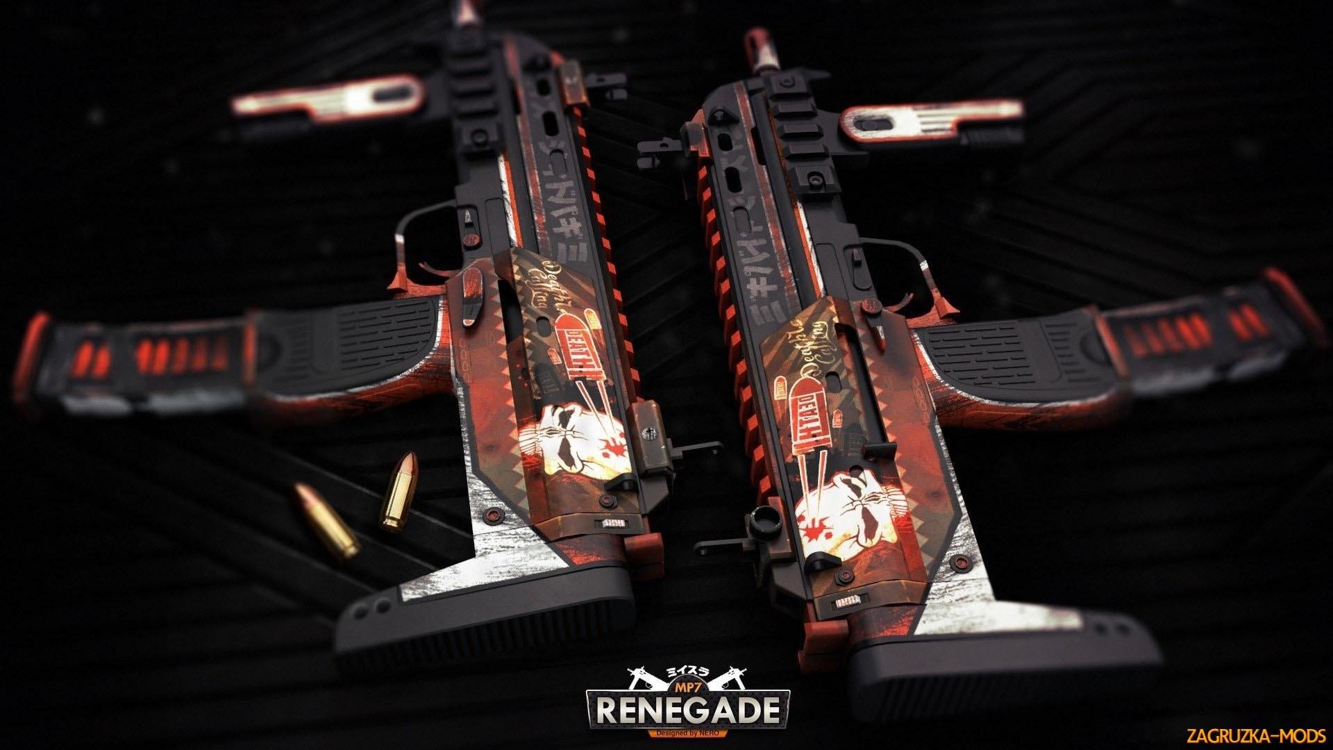 MP7 Renegade Skin for CS:GO