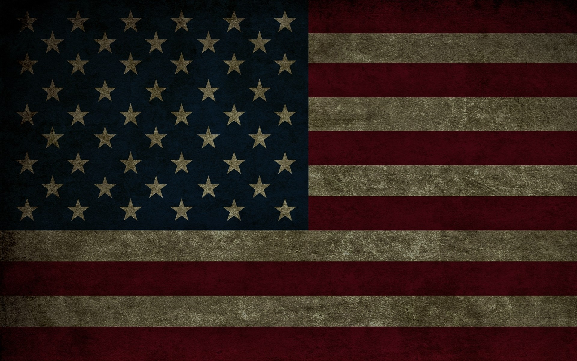 Worn US Flag – Hi res