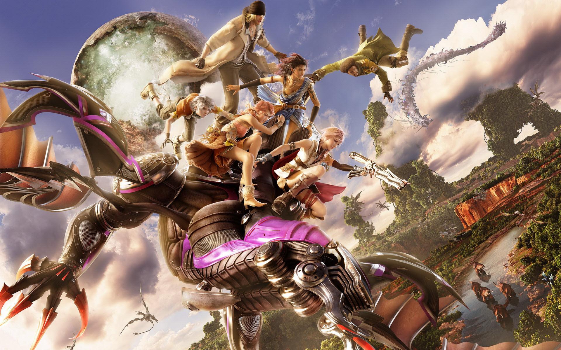 Final Fantasy 13 Wallpaper Hd