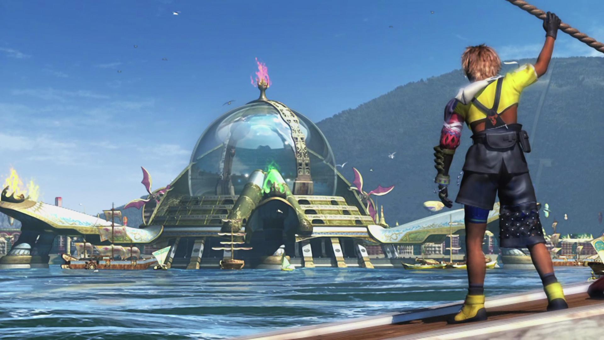 Final Fantasy X HD Luca