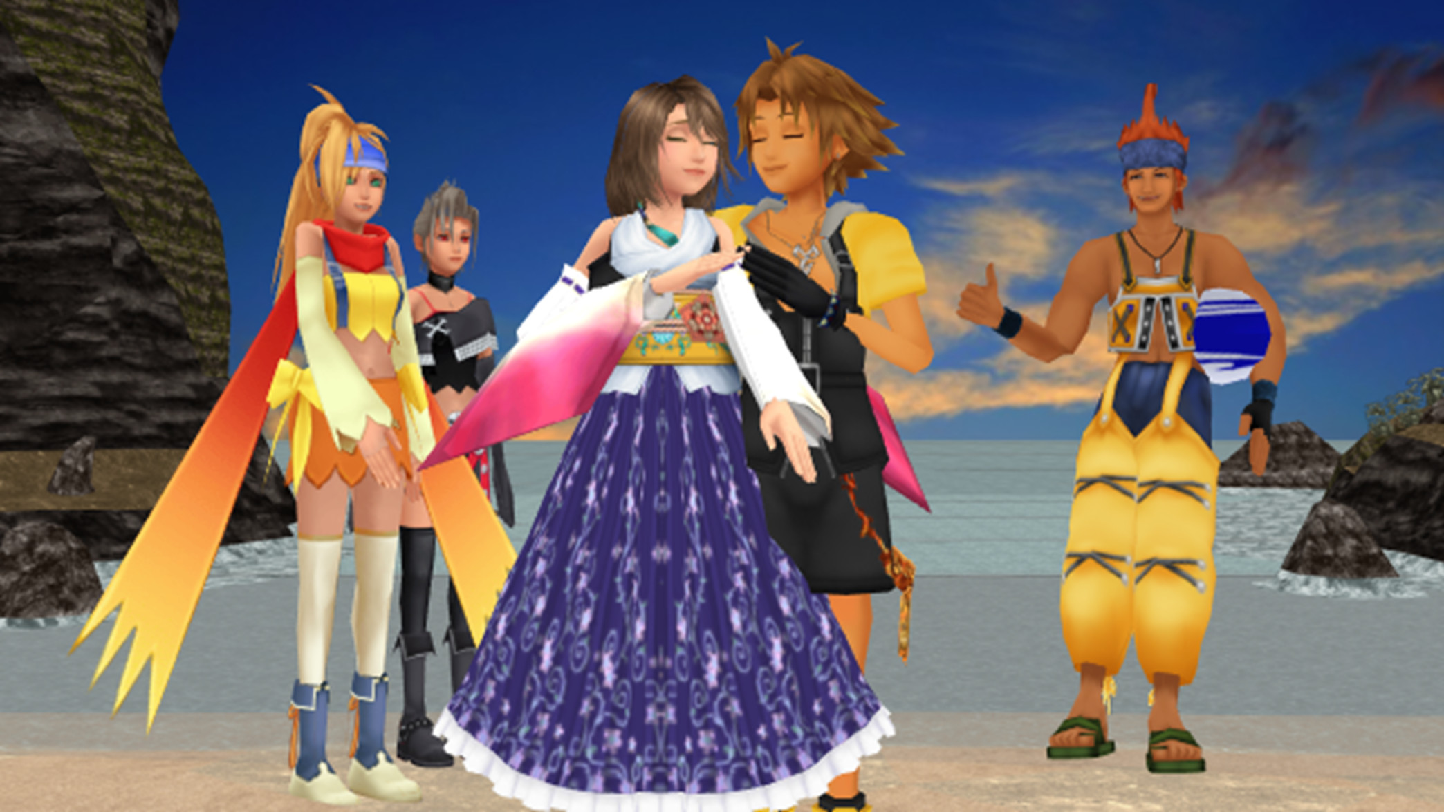 Yuna & Tidus images Final Fantasy X 1 and 2 Romances Perfect Love.. HD  wallpaper and background photos