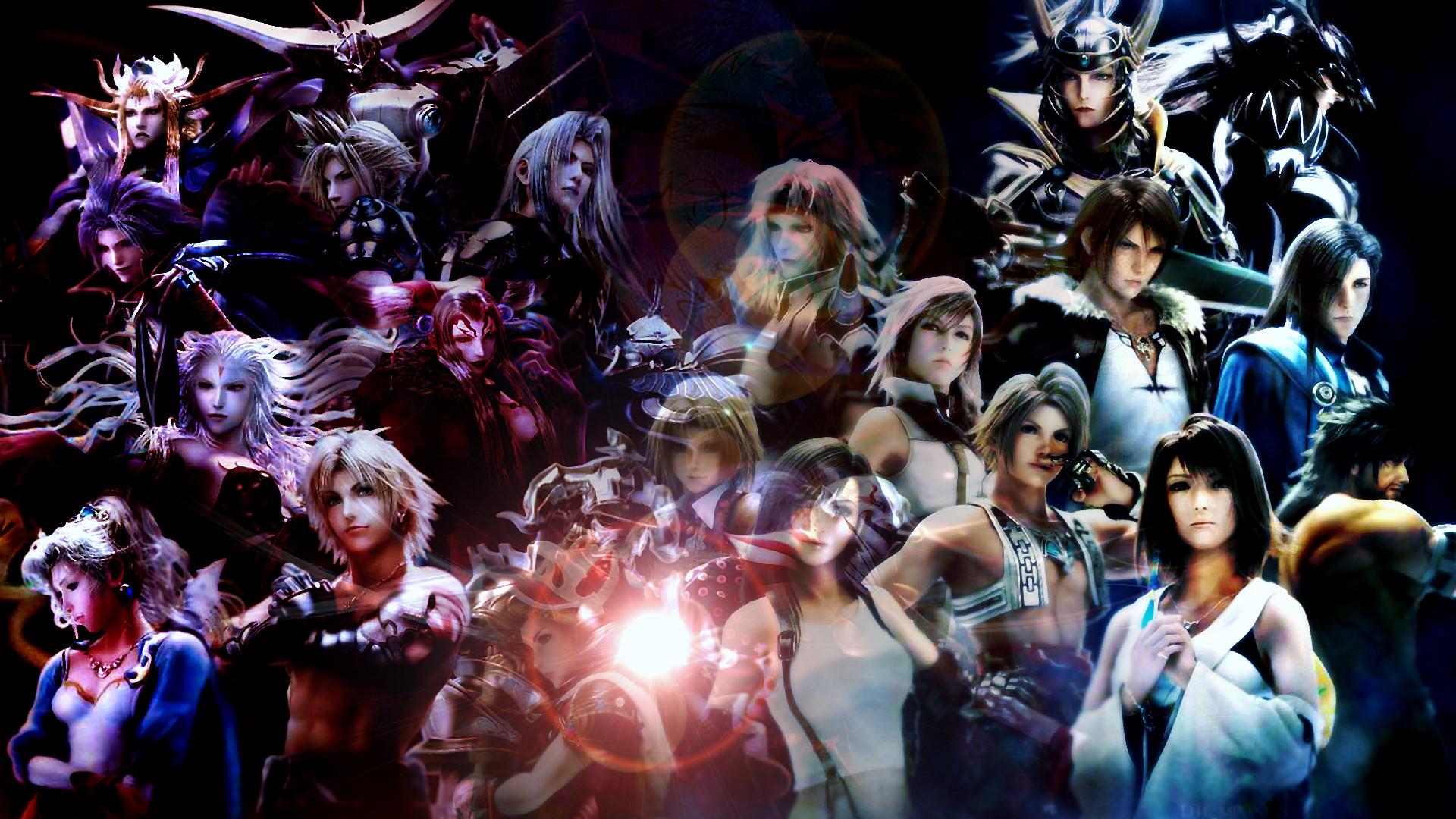 Tags: Anime, Final Fantasy VII, Final Fantasy VIII, Final Fantasy XIII,