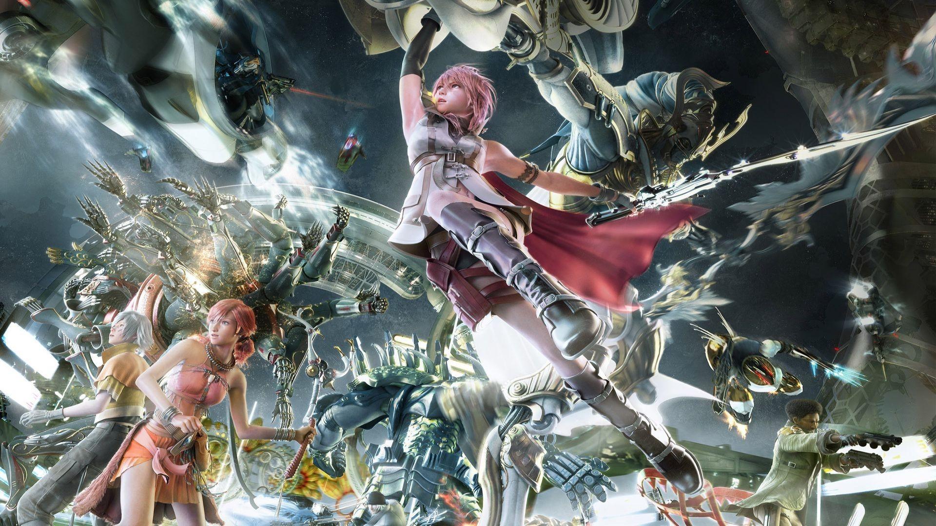 Final fantasy xiii lightning artwork wallpaper free wallpapers .