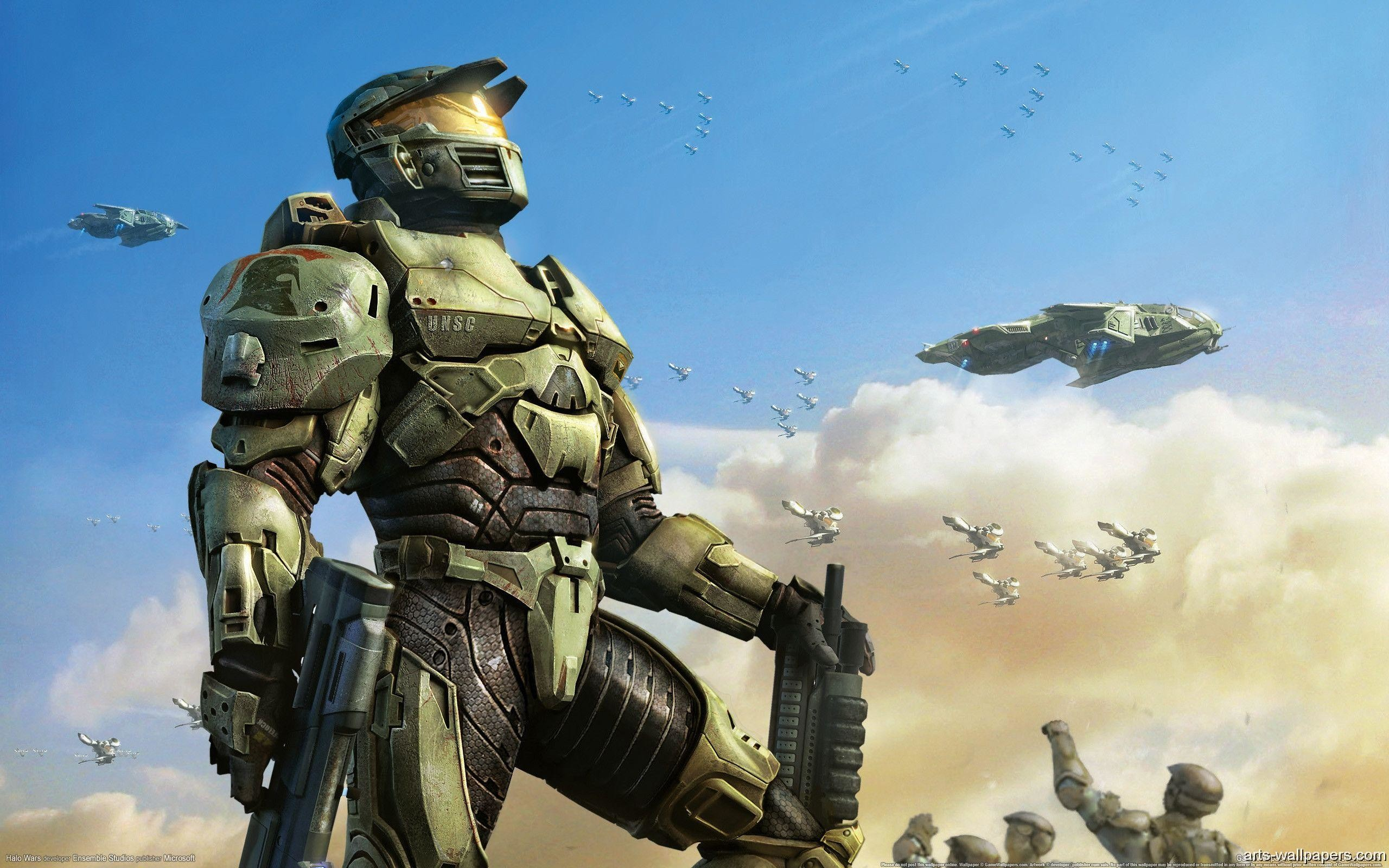 Wallpapers Halo Wars Video Game Desktop Backgrounds Es Walls .