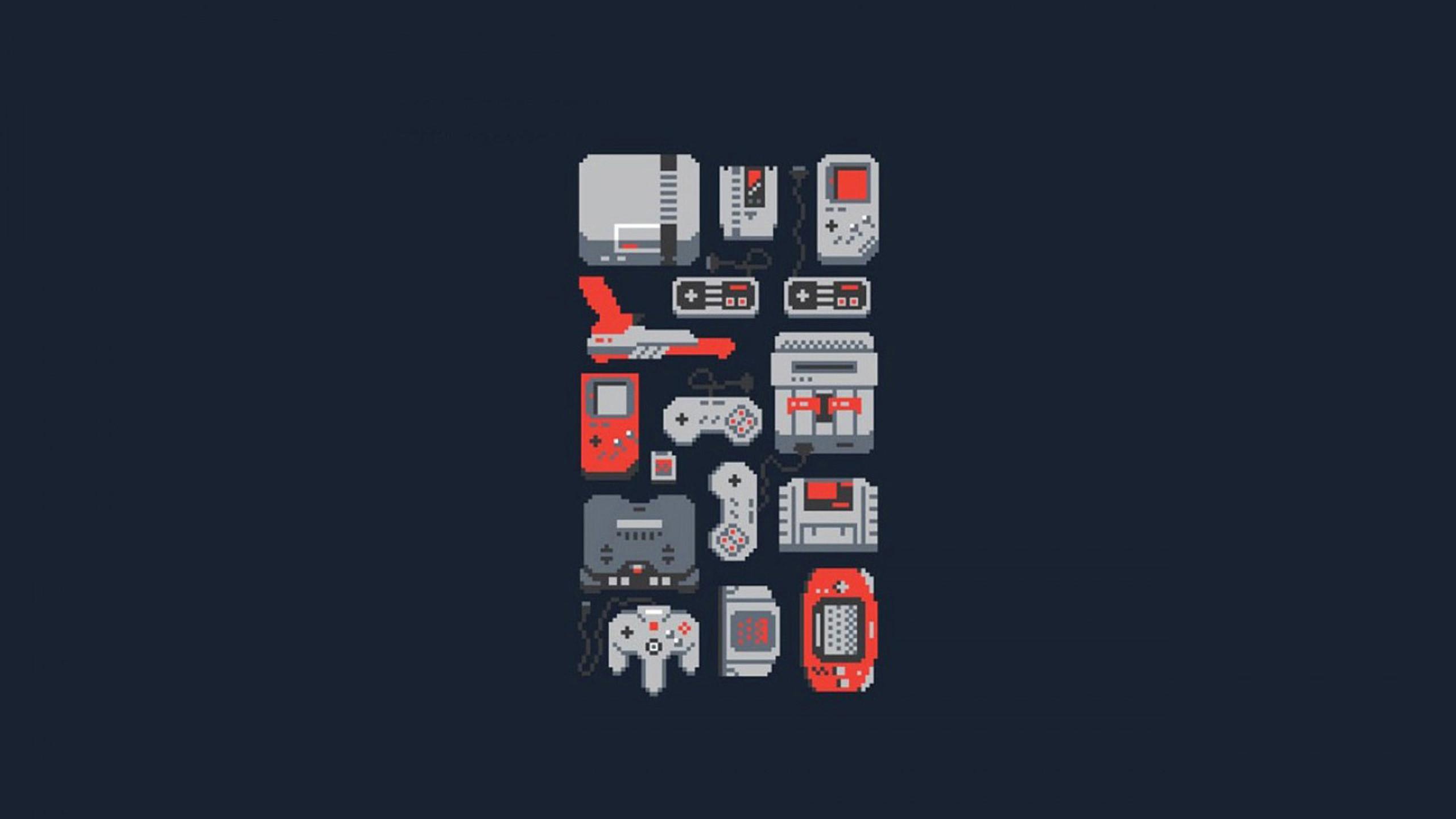 Retro video game wallpaper 01, HD Desktop Wallpapers