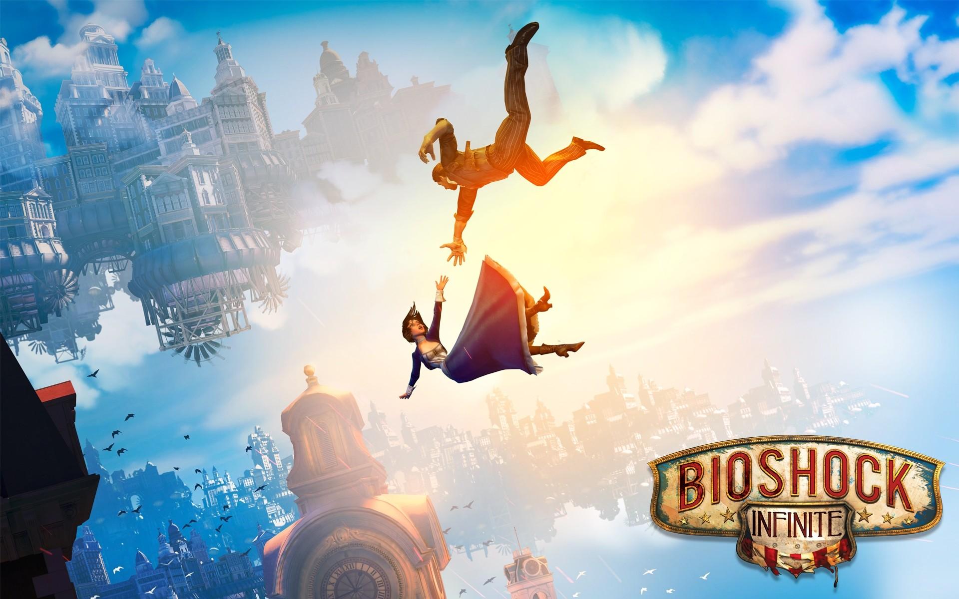 Fine Backgrounds Collection: BioShock Infinite Video Game Desktop Wallpapers
