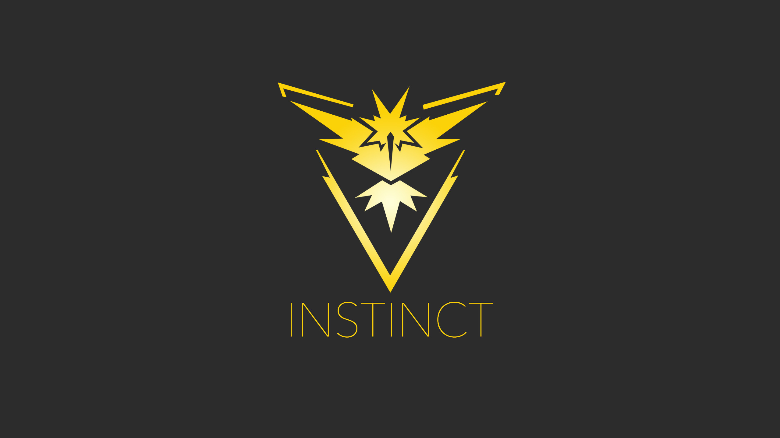 Video Game РPok̩mon GO Team Instinct Pokemon Go Wallpaper