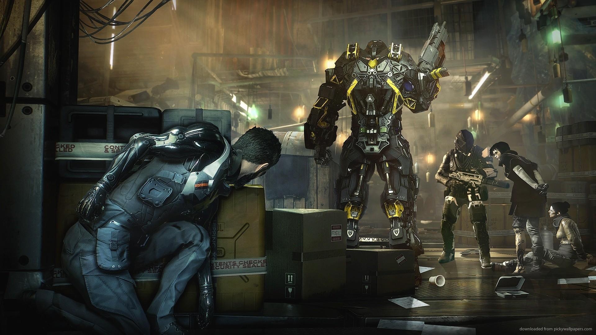 Deus Ex Mankind Divided Video Game Desktop Wallpaper picture