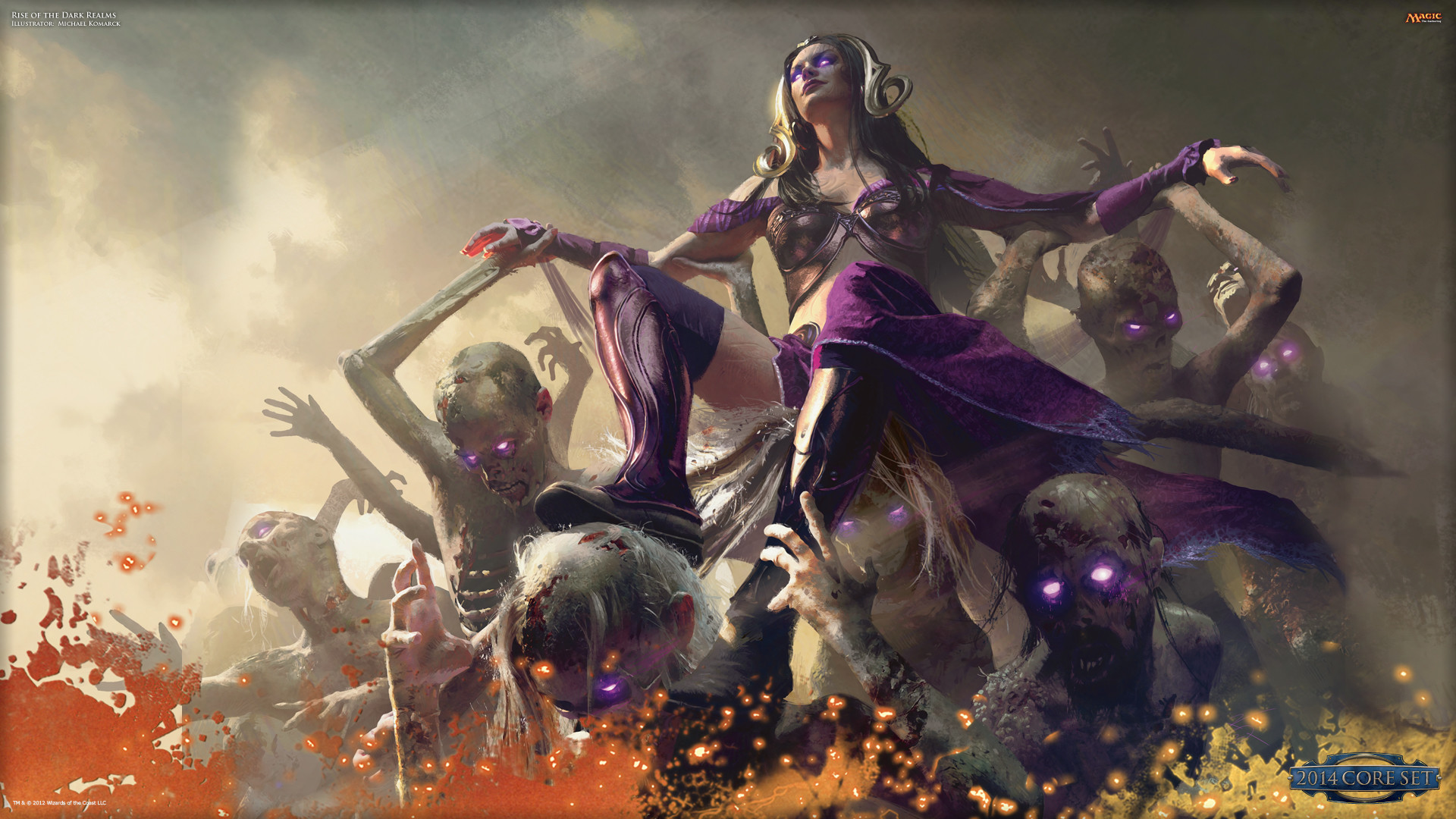 Wallpaper of the Week: Rise of the Dark Realms : Daily MTG : Magic .