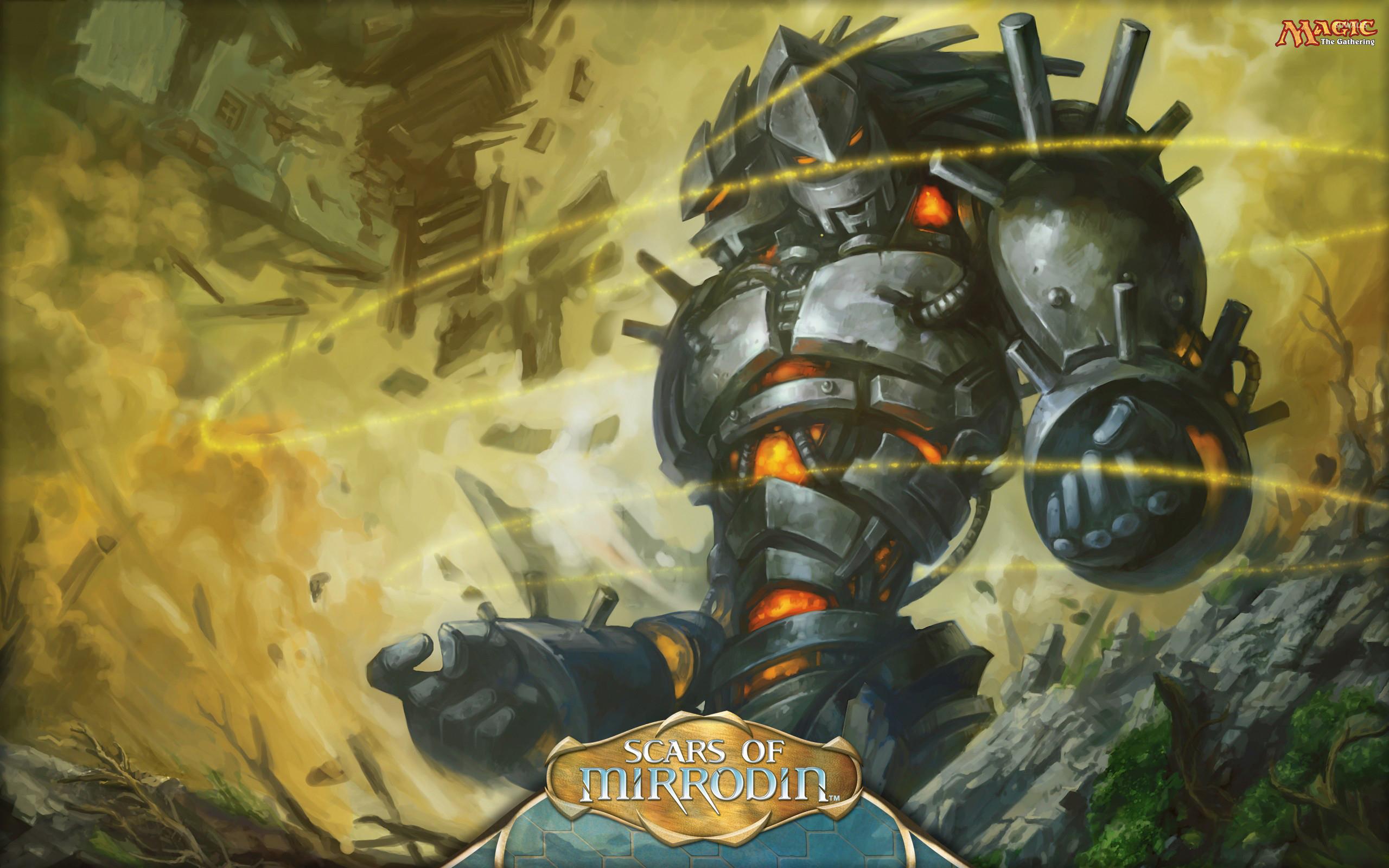 Darksteel Sentinel – Magic: The Gathering wallpaper jpg