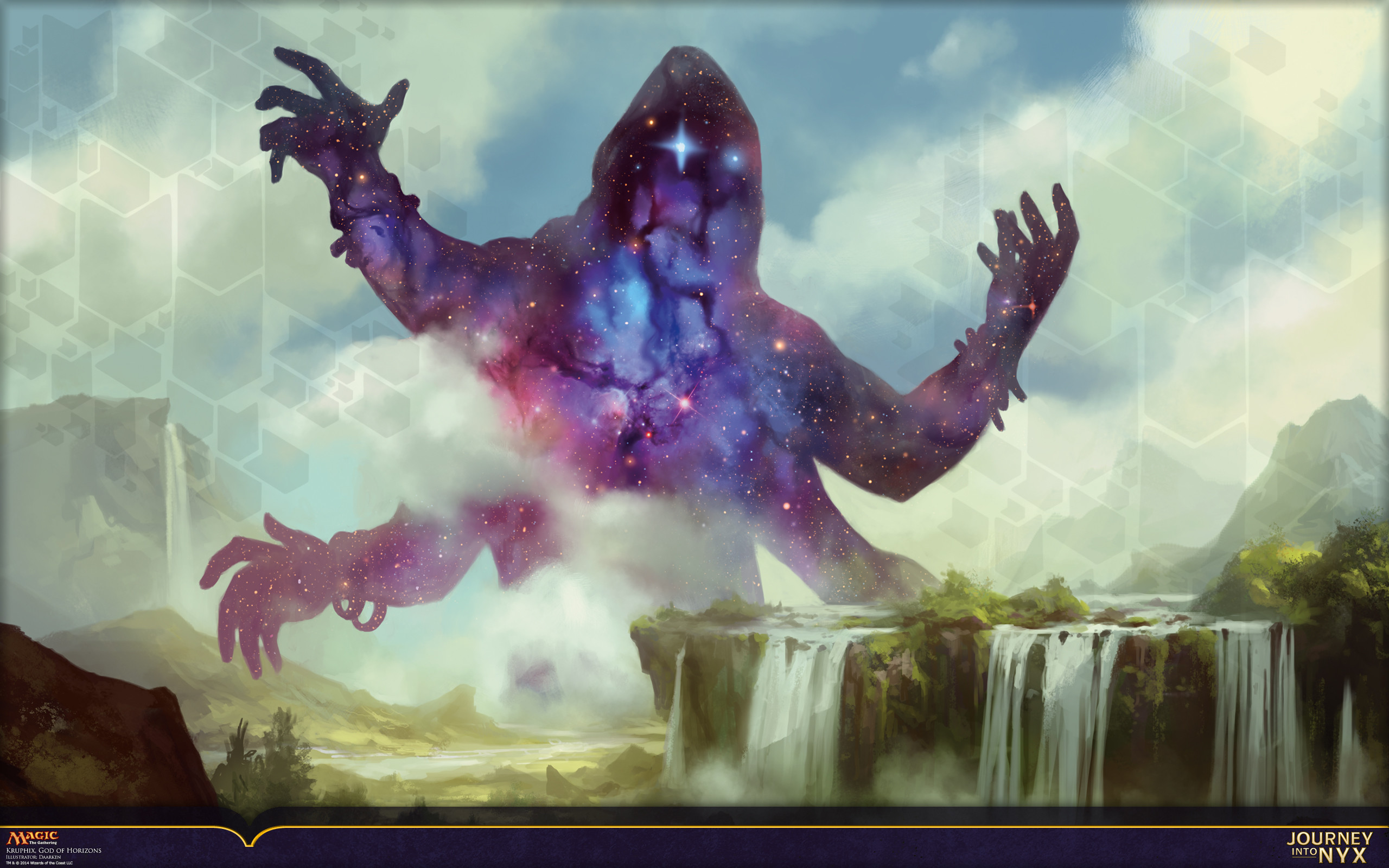 Wallpaper of the Week: Kruphix, God of Horizons