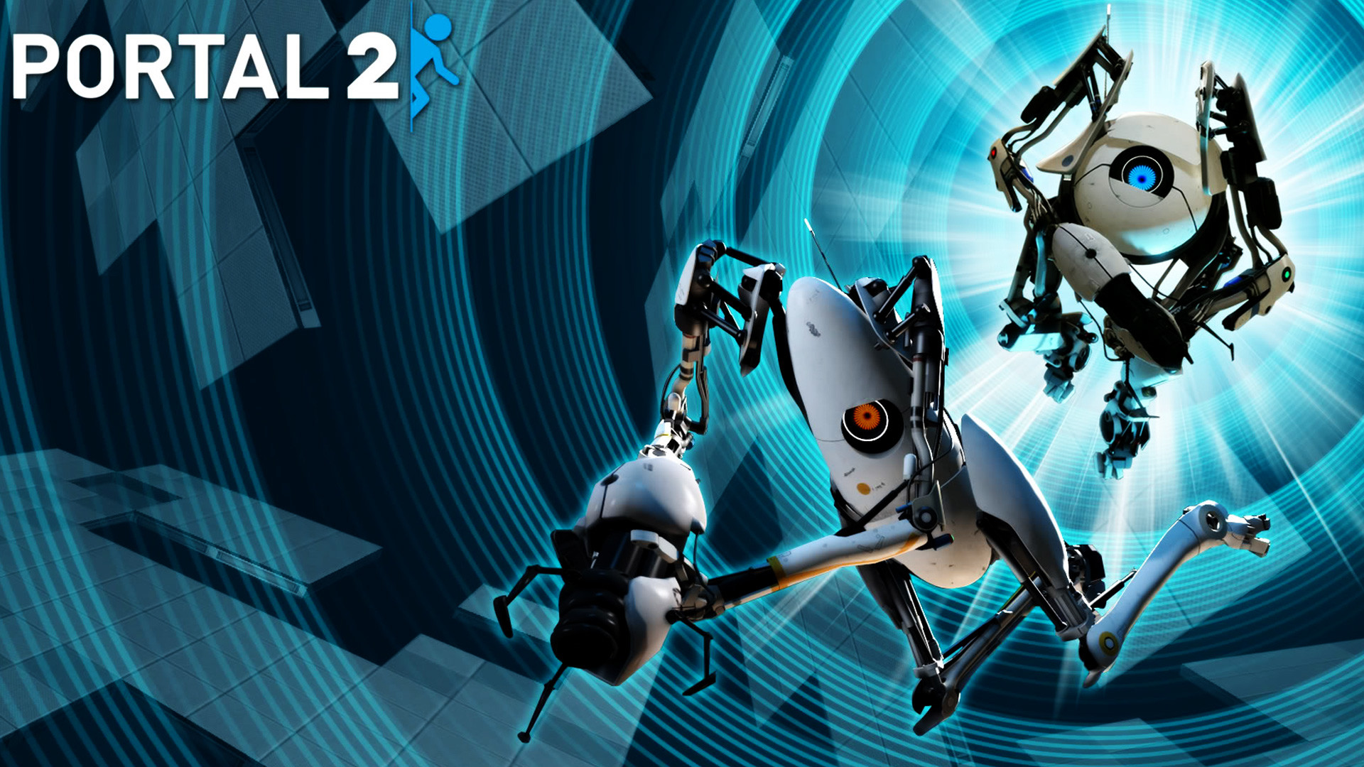 Portal 2 Game High Definition Wallpaper