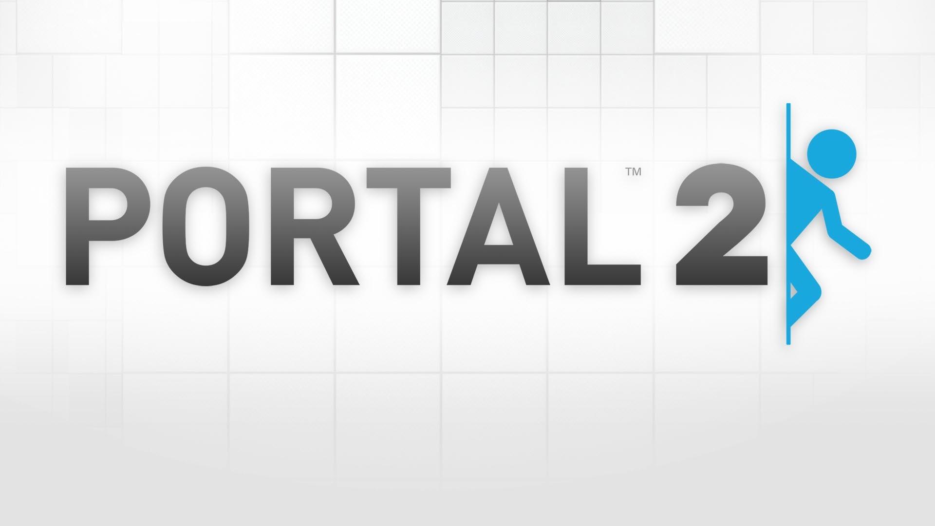 Portal 2 White HD Wallpaper. « »