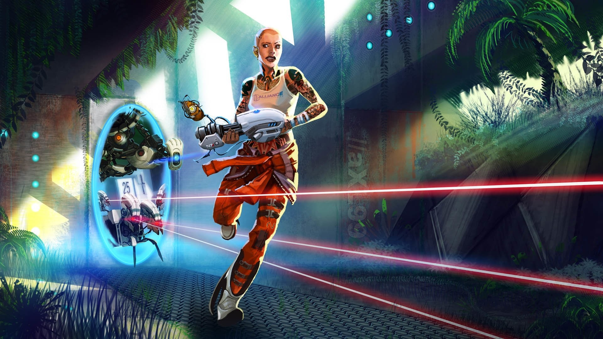 Video Game – Portal 2 Wallpaper