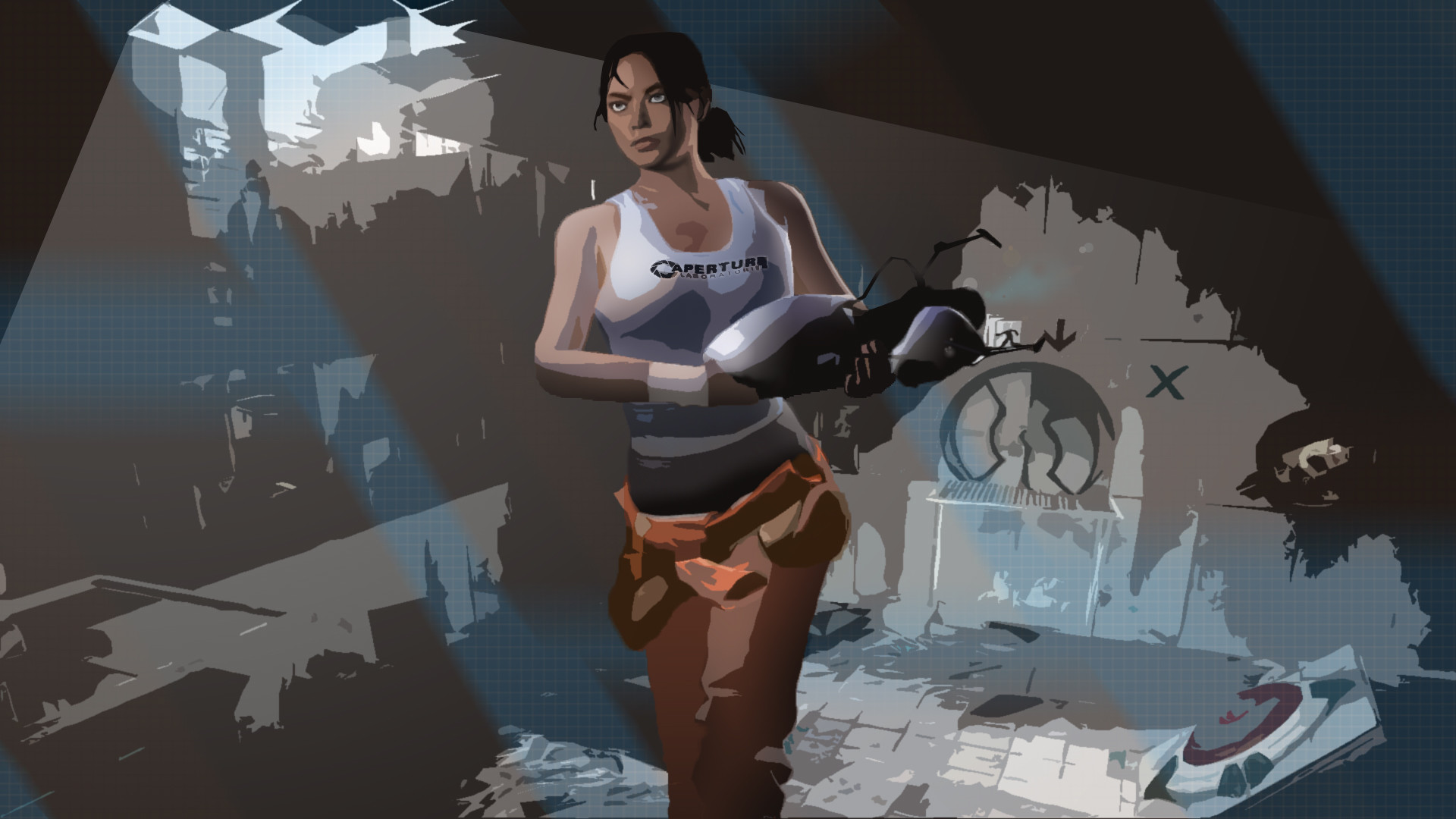 … Portal 2 Wallpaper -3 by jonnysonny