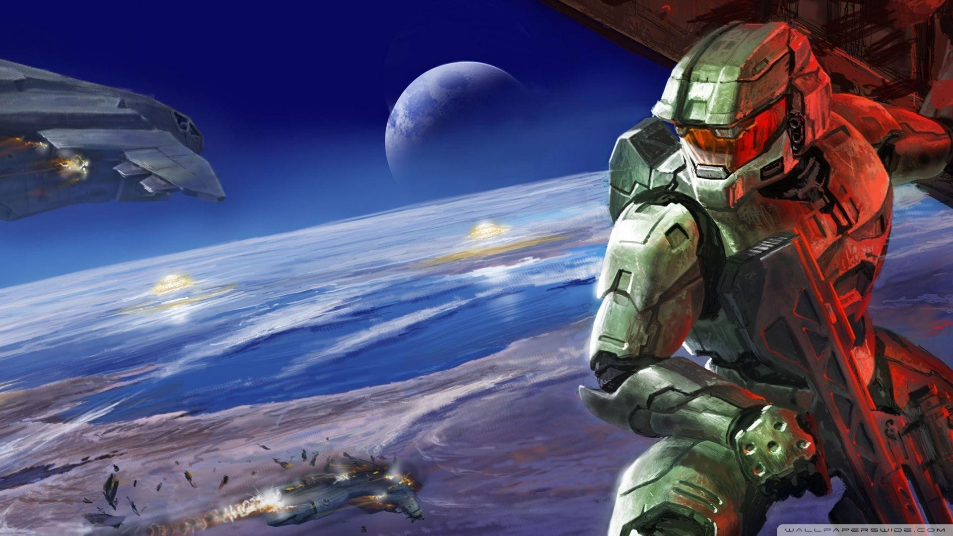 Wallpapers For > Halo Ring Wallpaper 1920×1080
