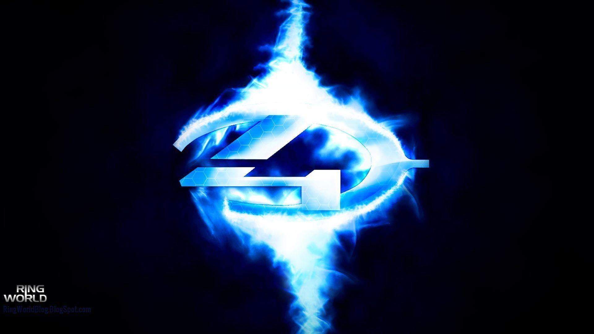 Logos For > Halo 4 Logo Wallpaper