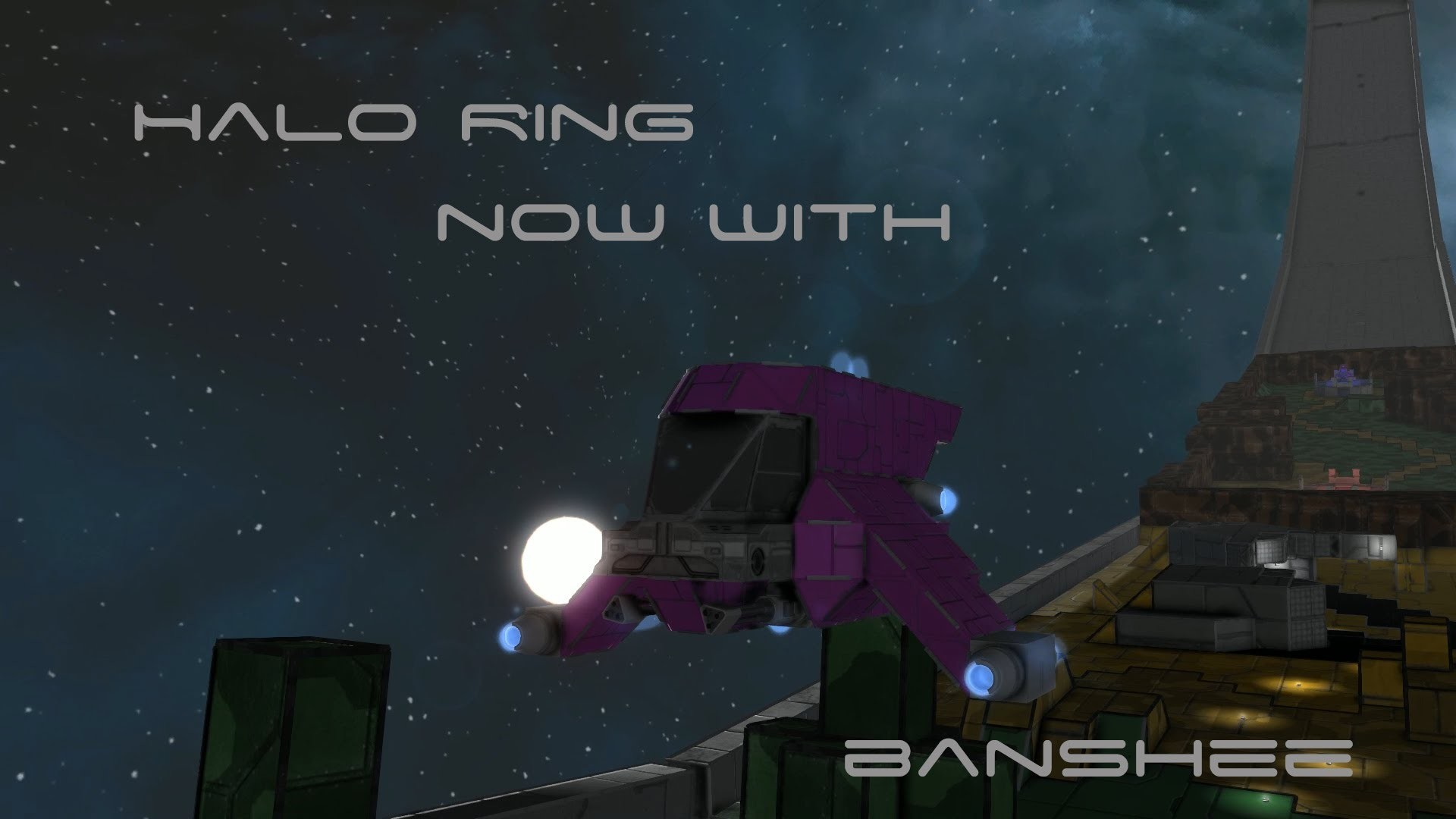 Space Engineers Halo Installation Ring [Updated]
