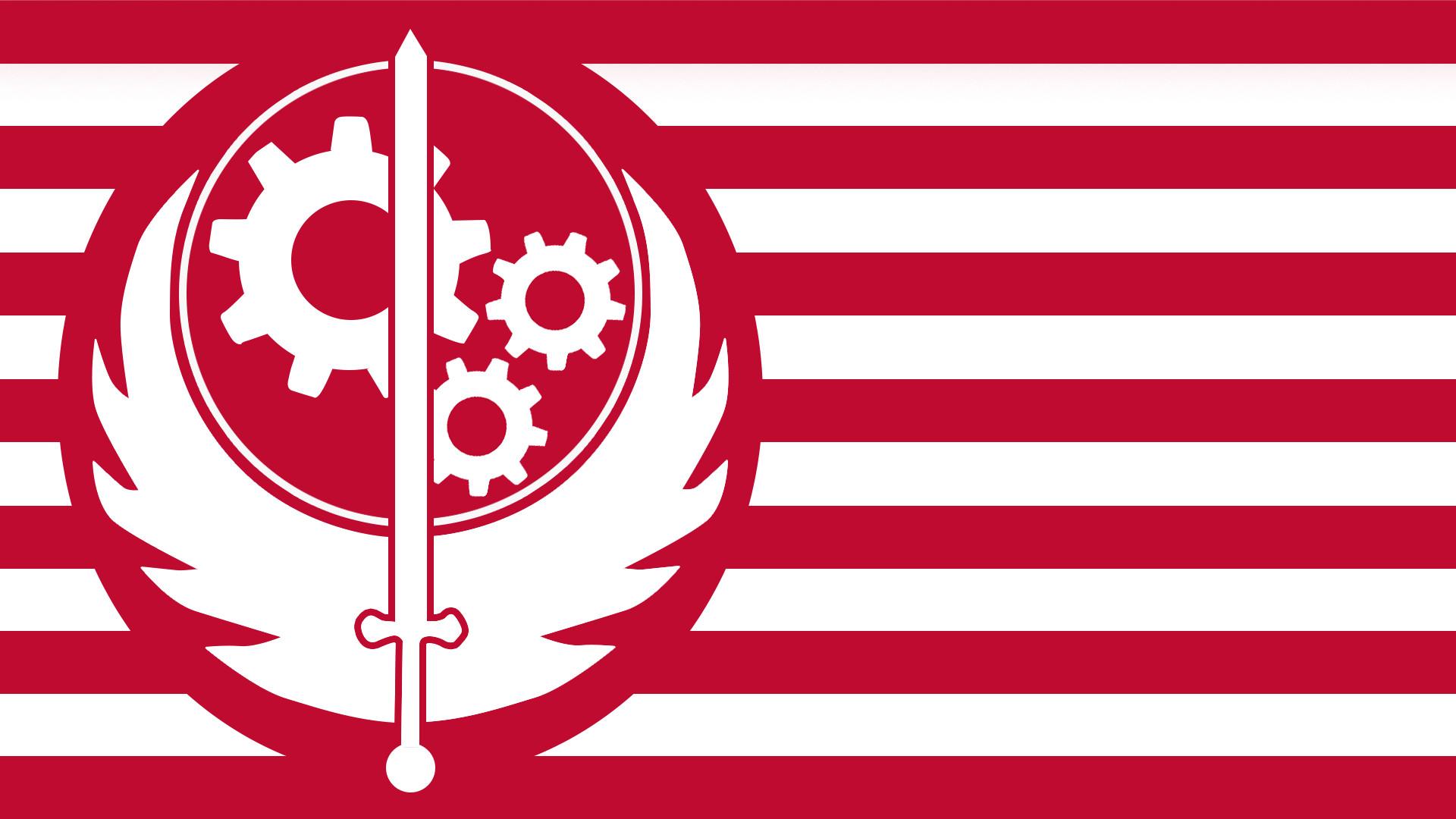 Brotherhood of Steel Flag by tonyp2121 Brotherhood of Steel Flag by  tonyp2121
