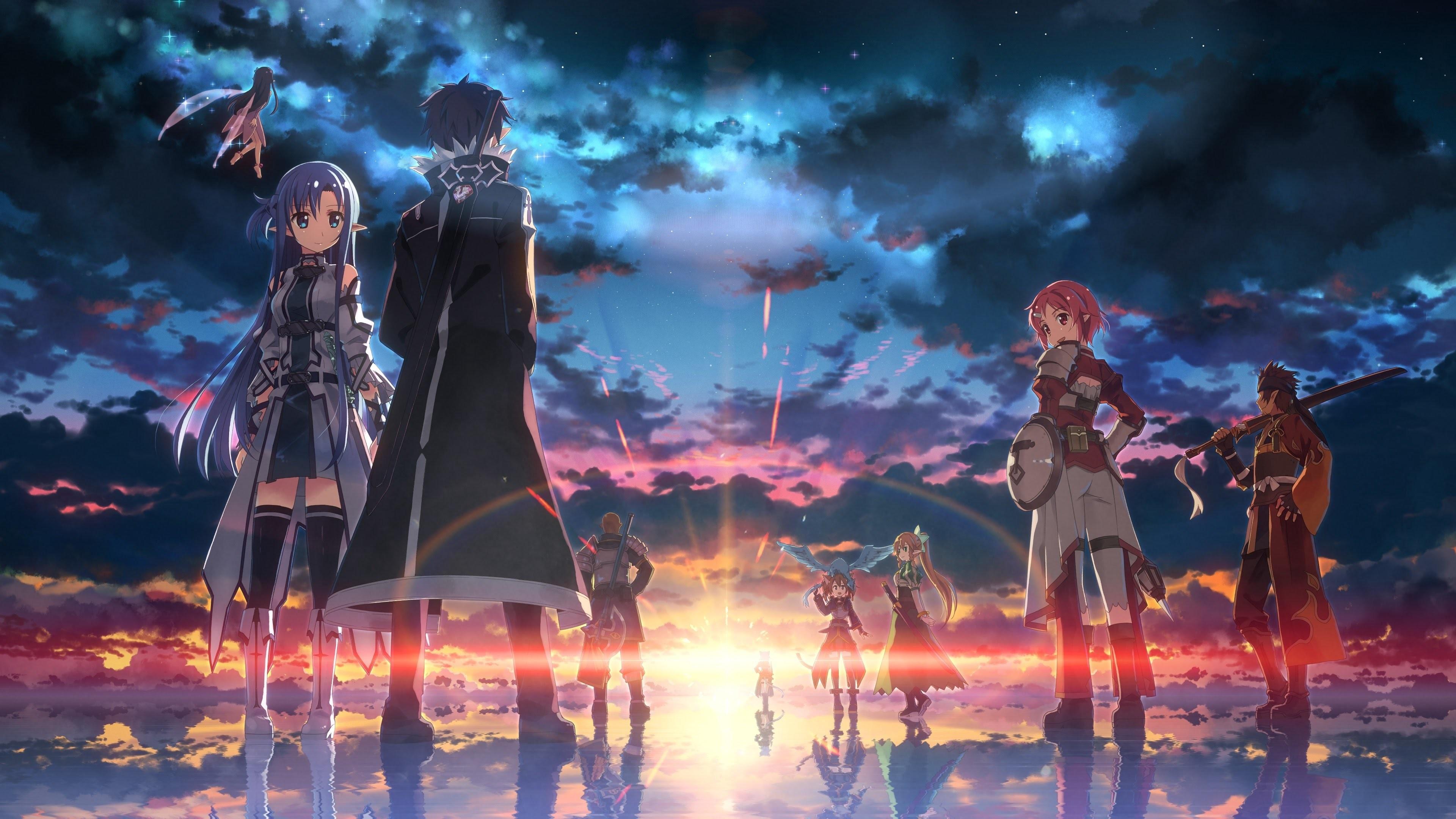 Anime Relaxing Music | A Tender Feeling「OST」| Best Sword Art Online  Wallpapers【Full HD】