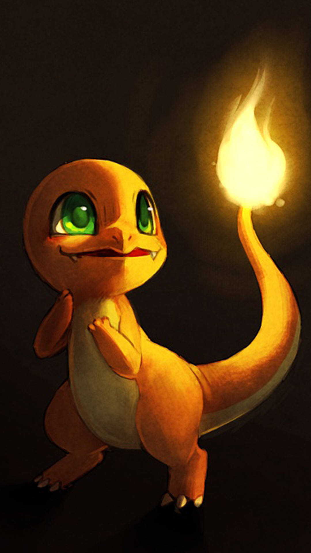 Charmander Pokemon Go iphone 7 Plus wallpaper