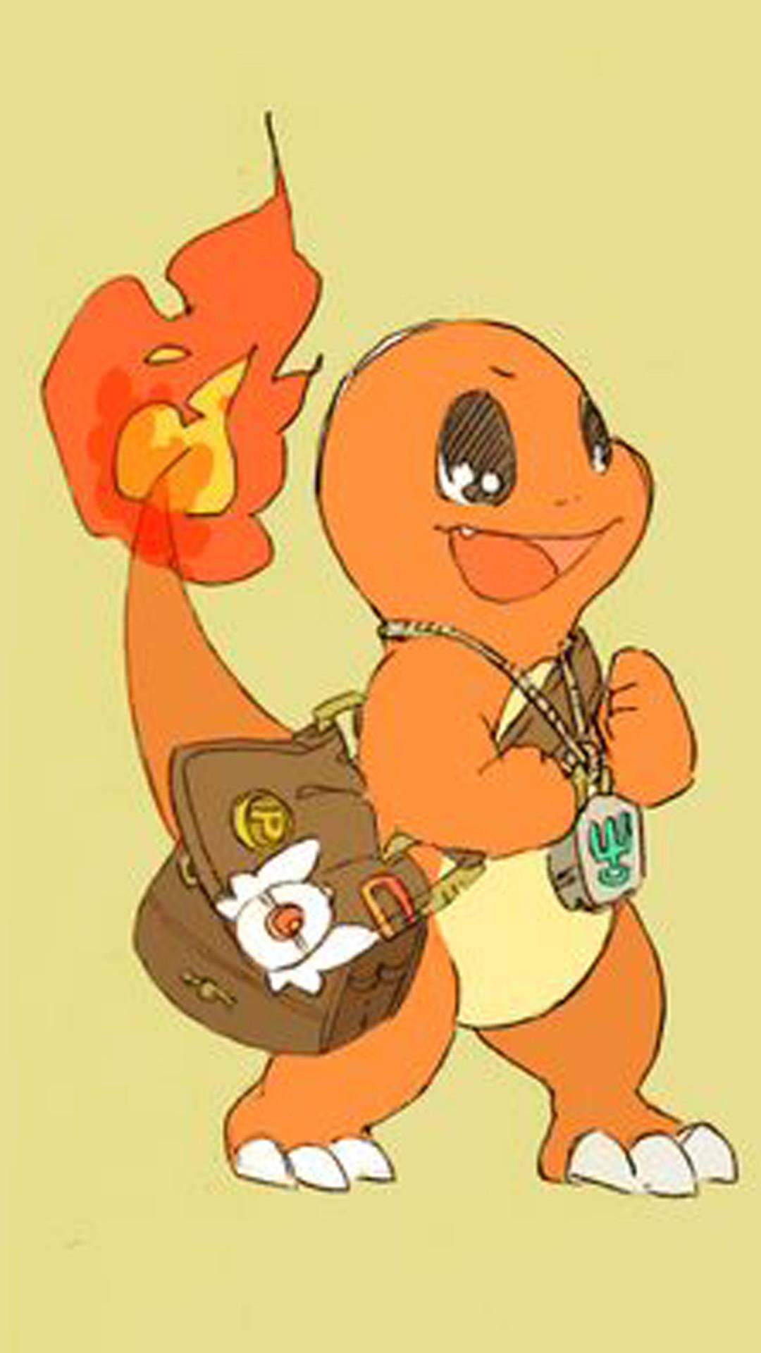Charmander Pokemon Go whatsapp wallpaper iphone 6 plus