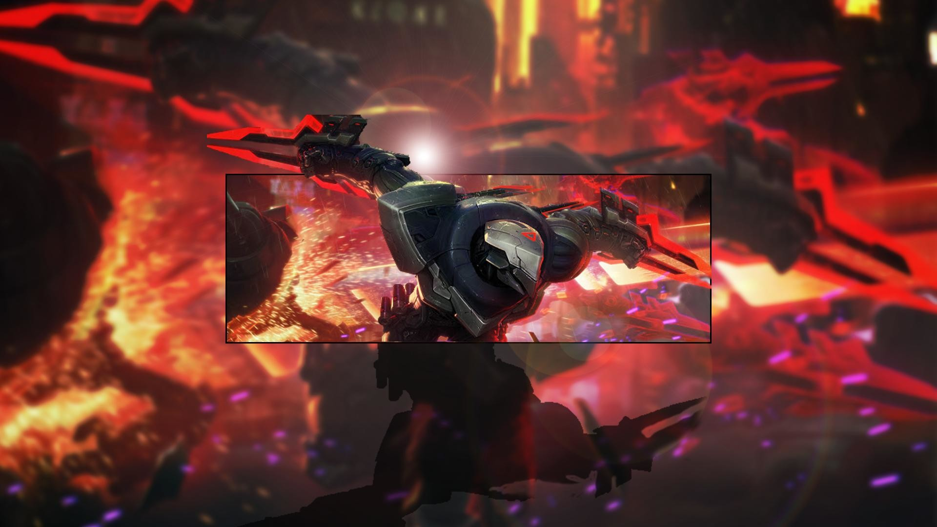 I separated Zed from his new PROJECT splash : leagueoflegends