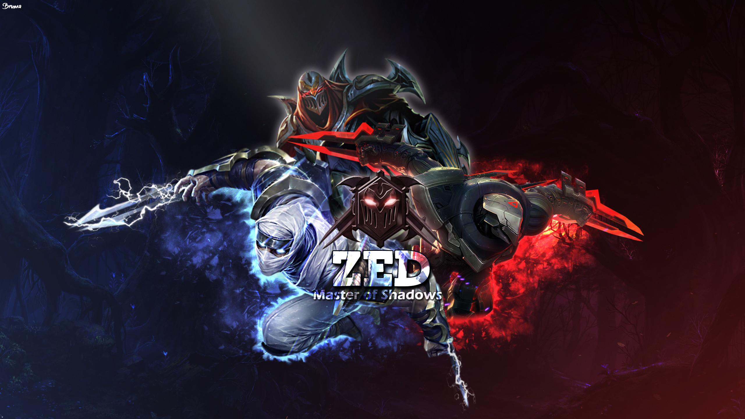 PROJECT Zed & Shockblade Zed & Classic Zed by Brumskyy HD Wallpaper Fan Art  Artwork League