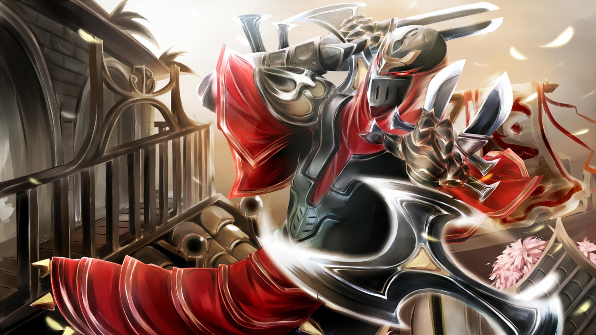 Videospiel League Of Legends Zed Wallpaper