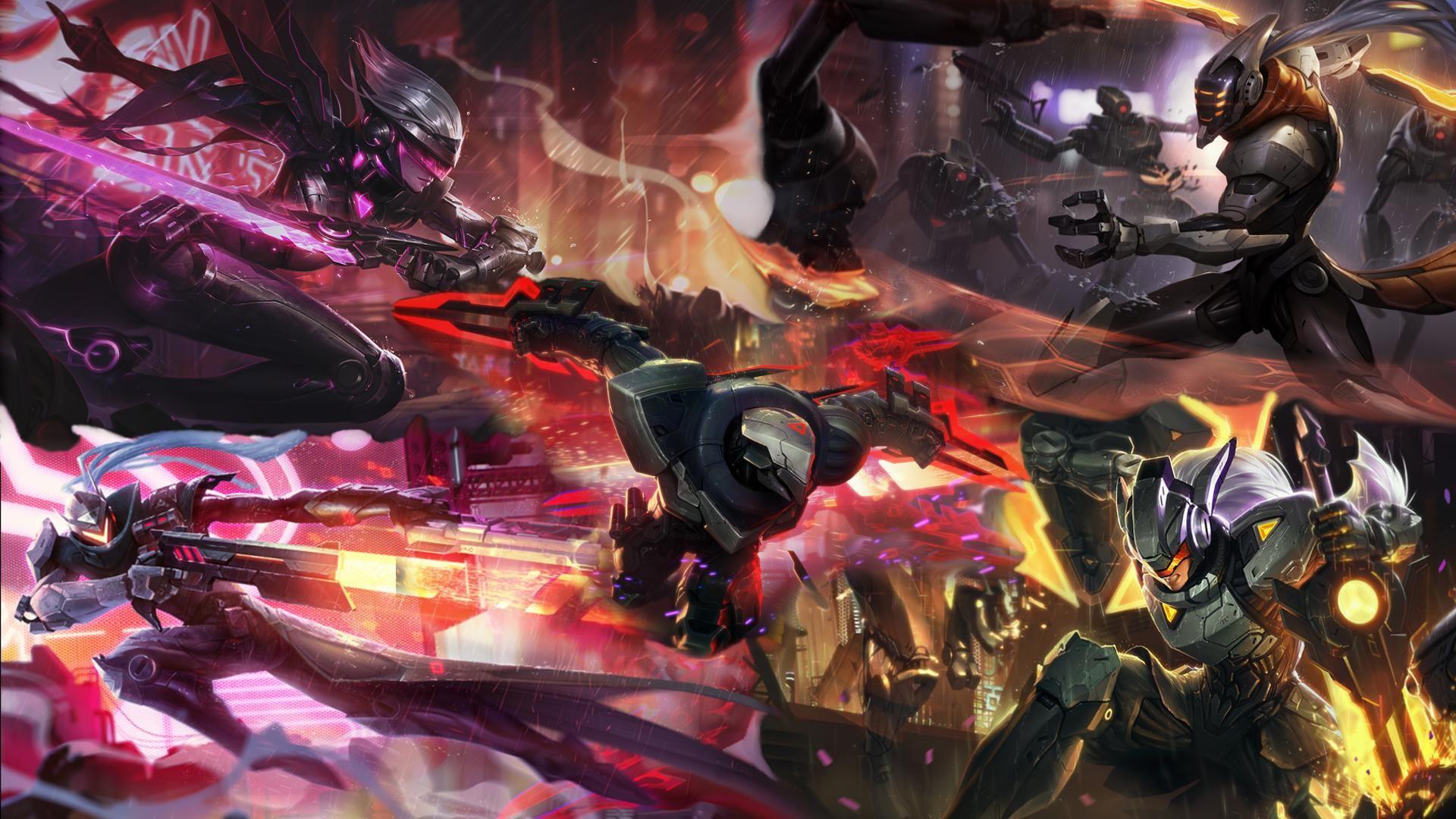 League of Legends PROJECT wallpaper