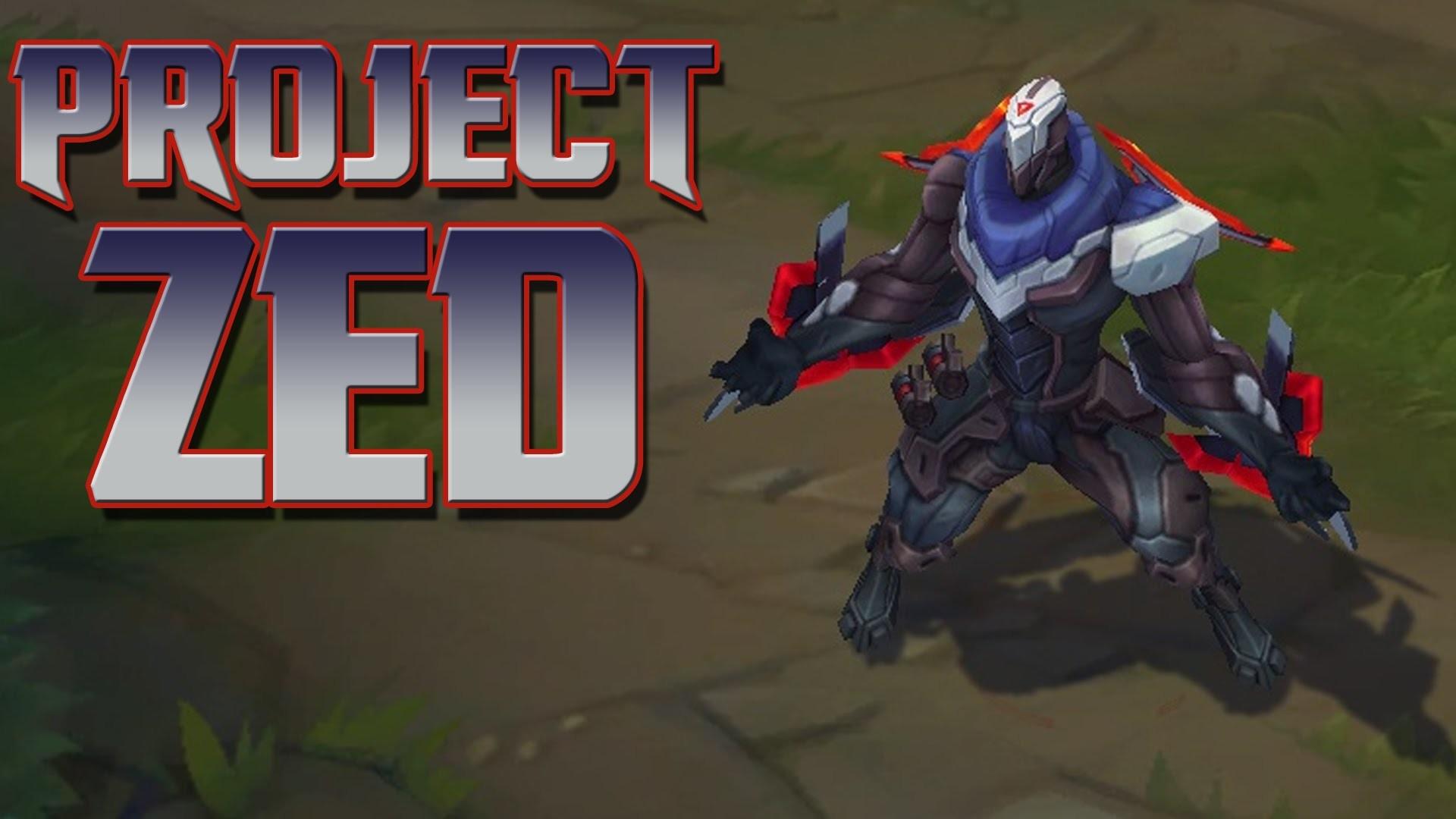 PROJECT: ZED   Skin Spotlight [GER][HD]